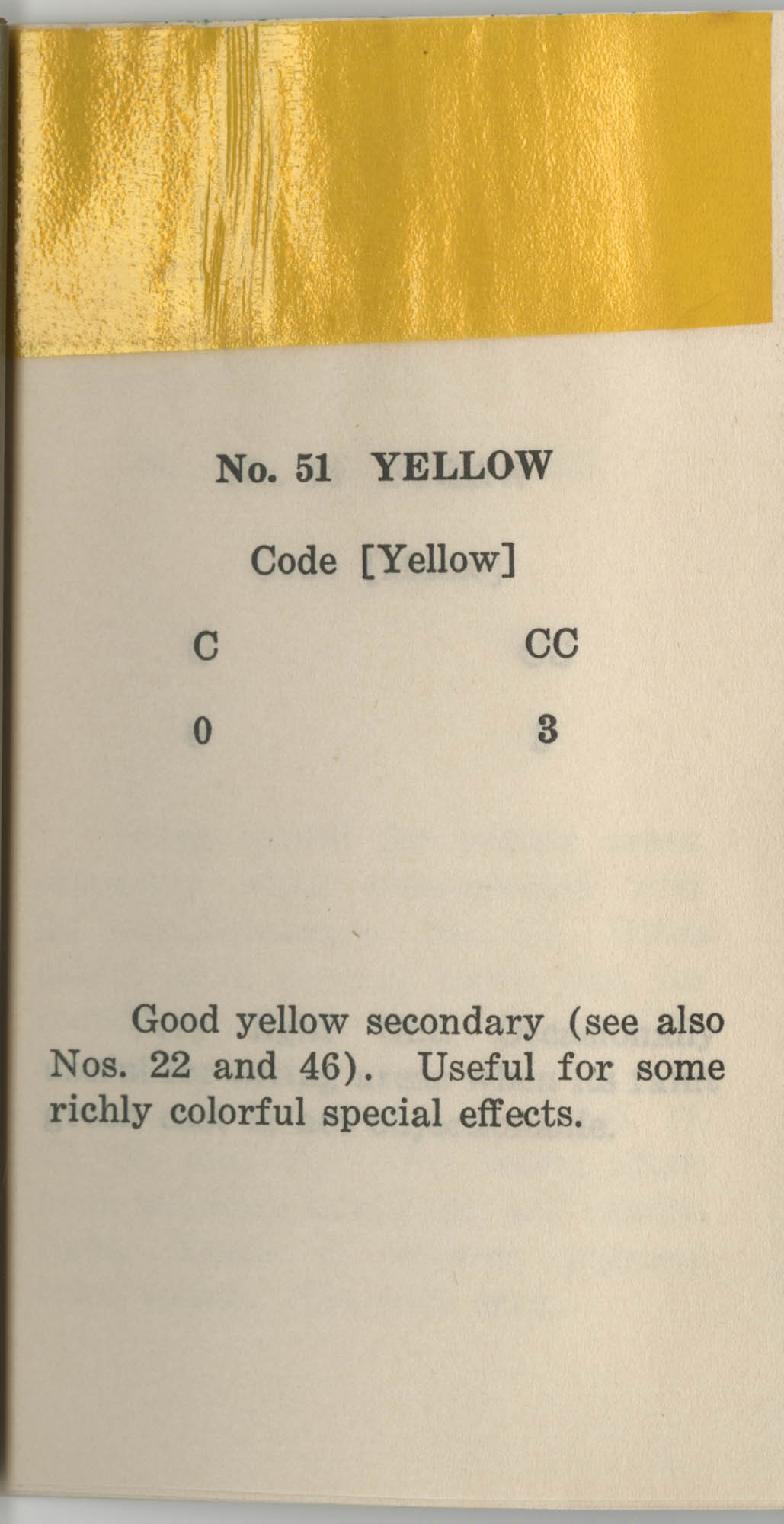 Colored Gelatine for the Theatre School and Community Playhouse, Page 21