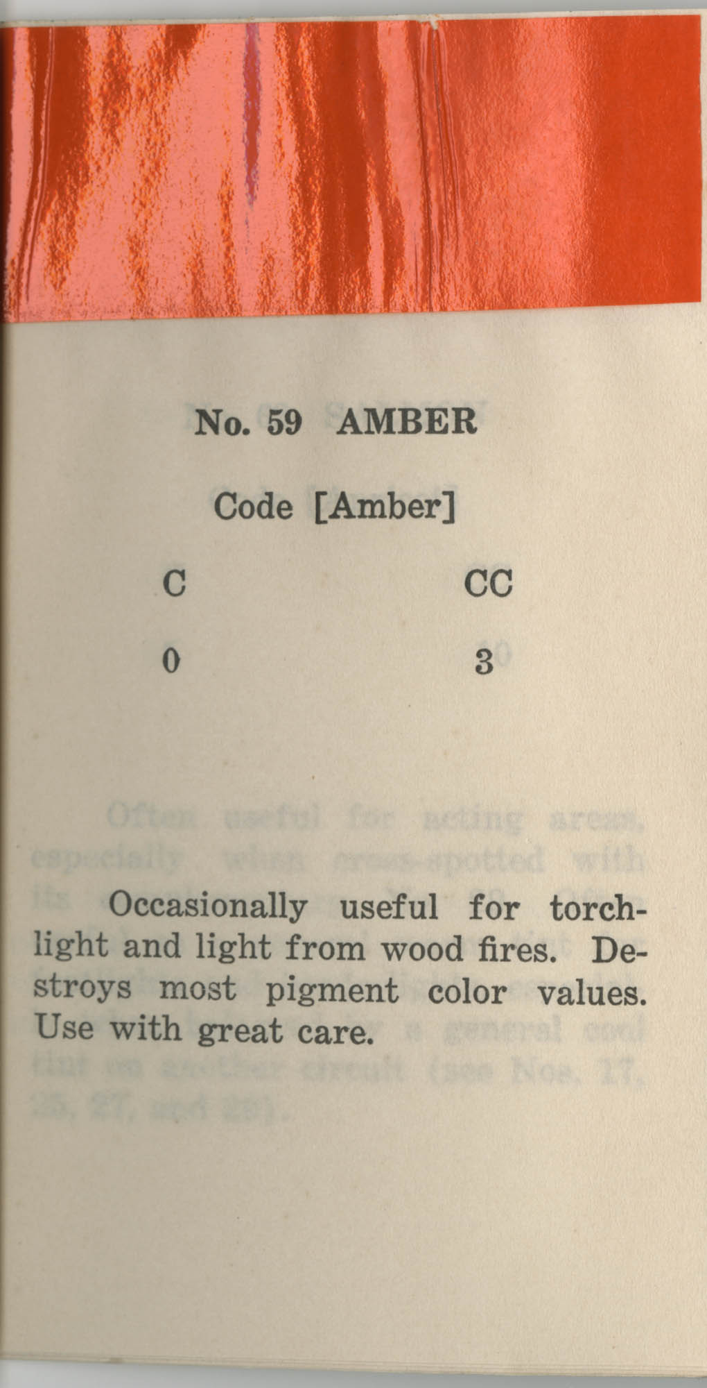 Colored Gelatine for the Theatre School and Community Playhouse, Page 24
