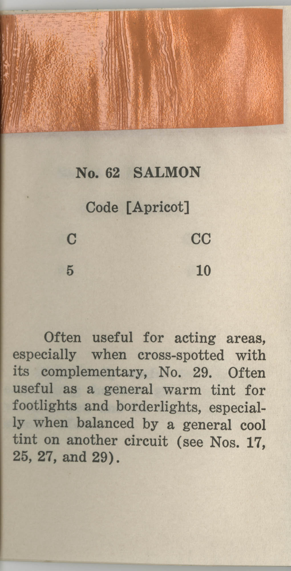 Colored Gelatine for the Theatre School and Community Playhouse, Page 25