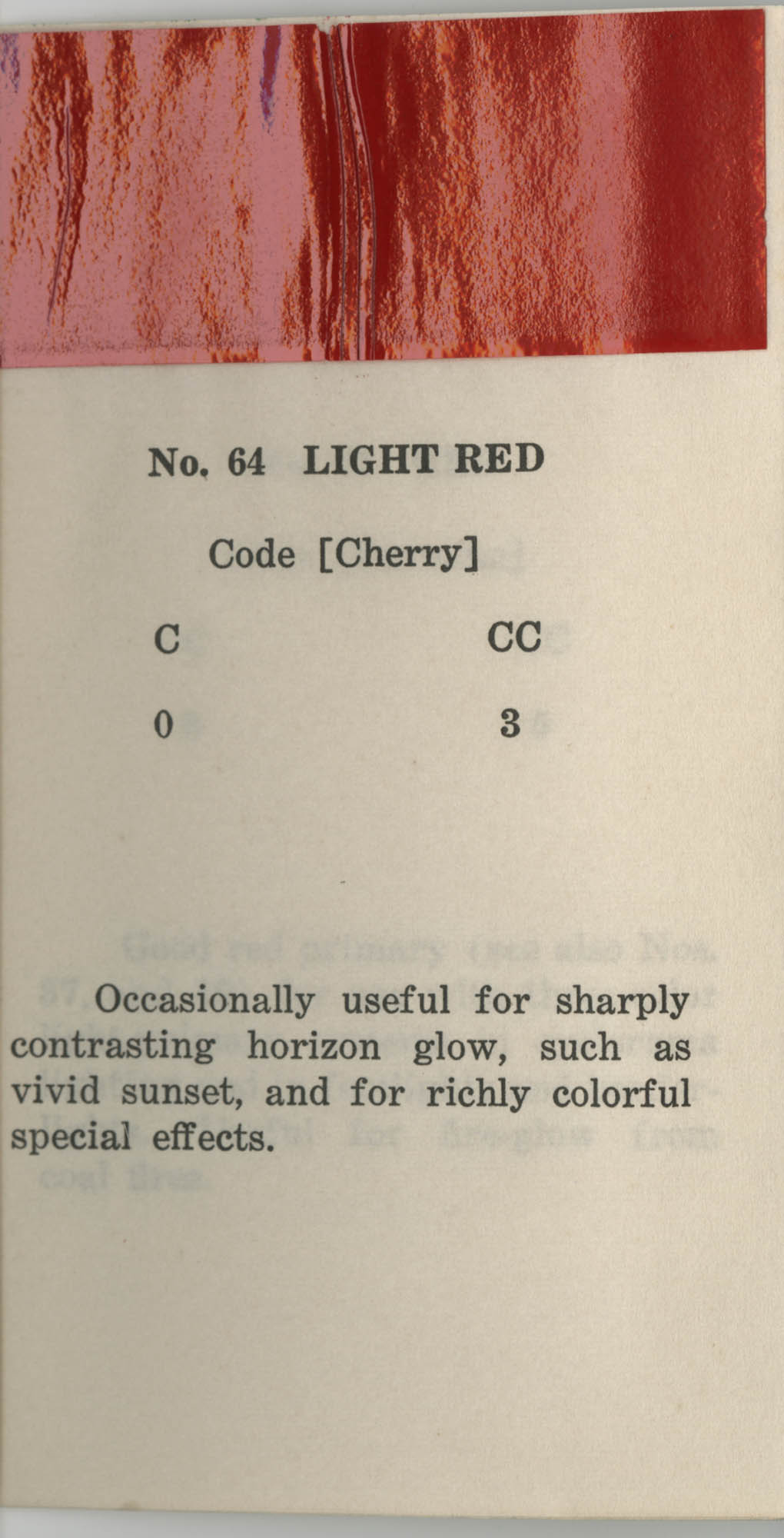 Colored Gelatine for the Theatre School and Community Playhouse, Page 26