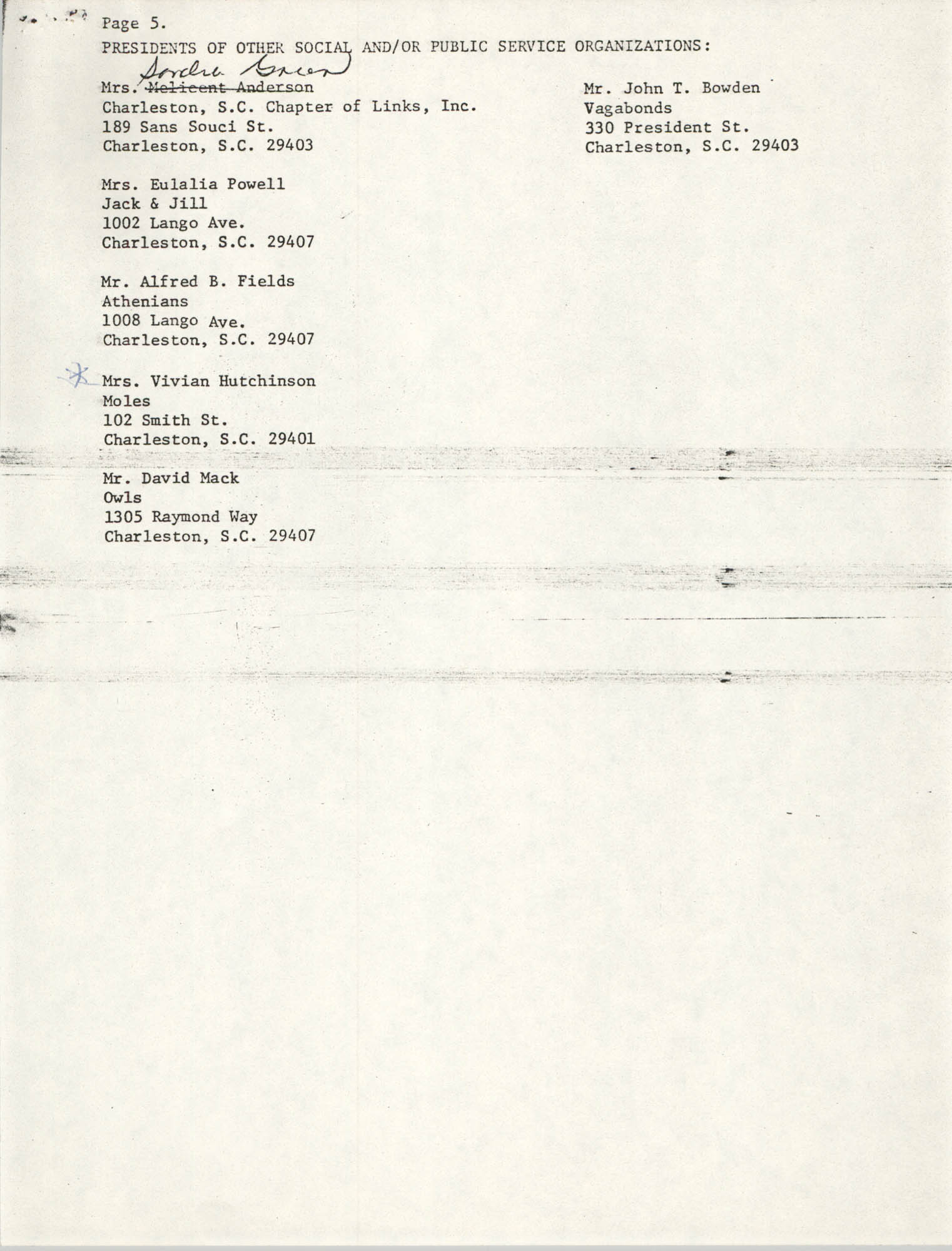 Memorandum, July 18, 1979, Page 5