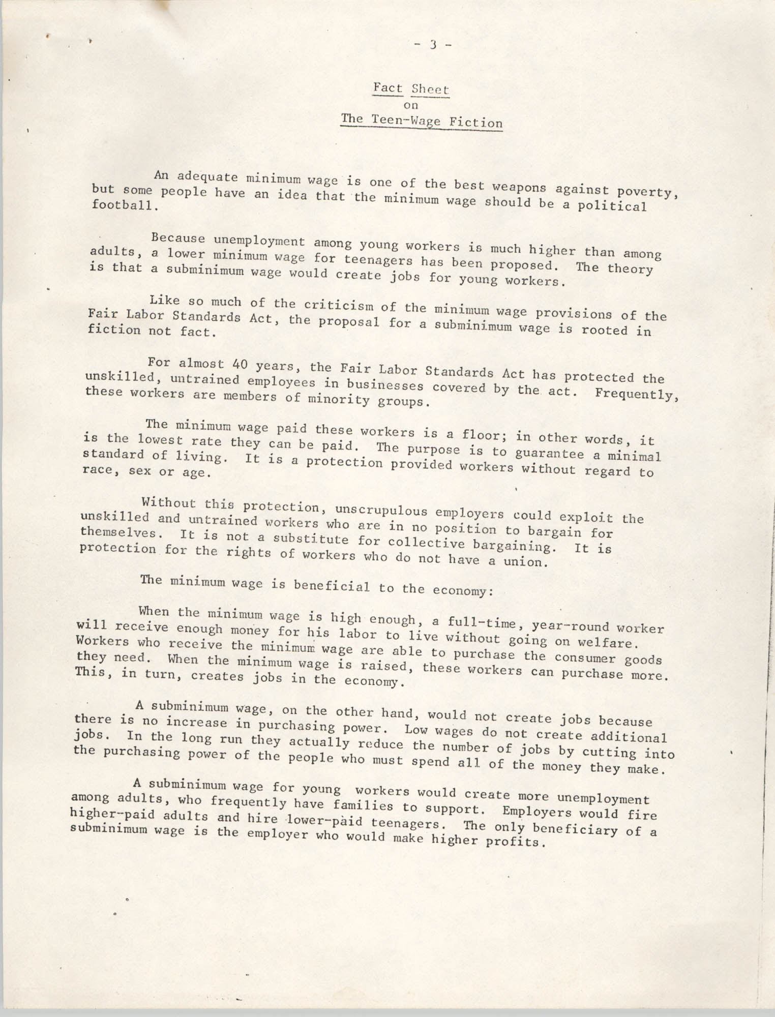 1977 Amendments to the Fair Labor Standards Act, Page 3