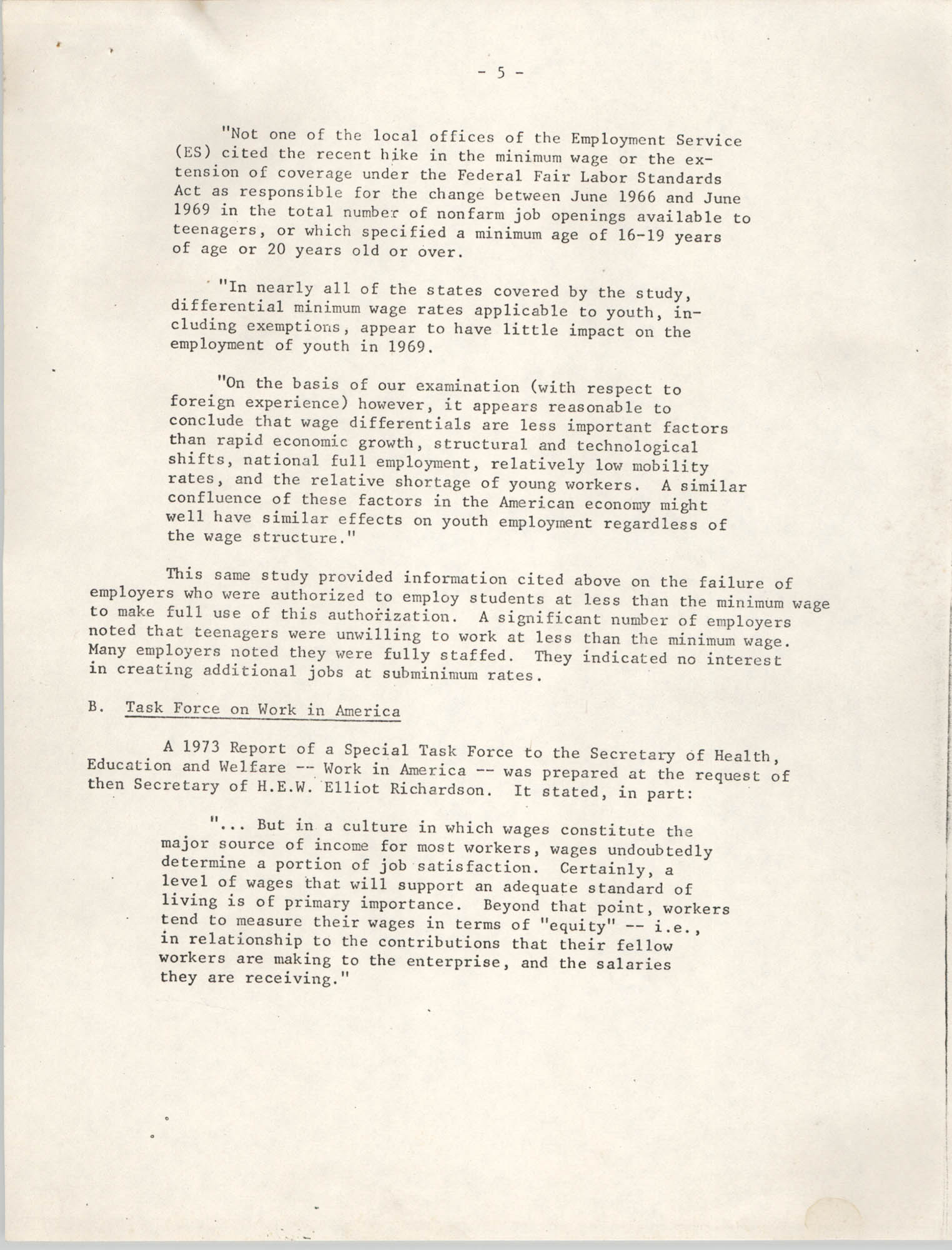 1977 Amendments to the Fair Labor Standards Act, Page 5