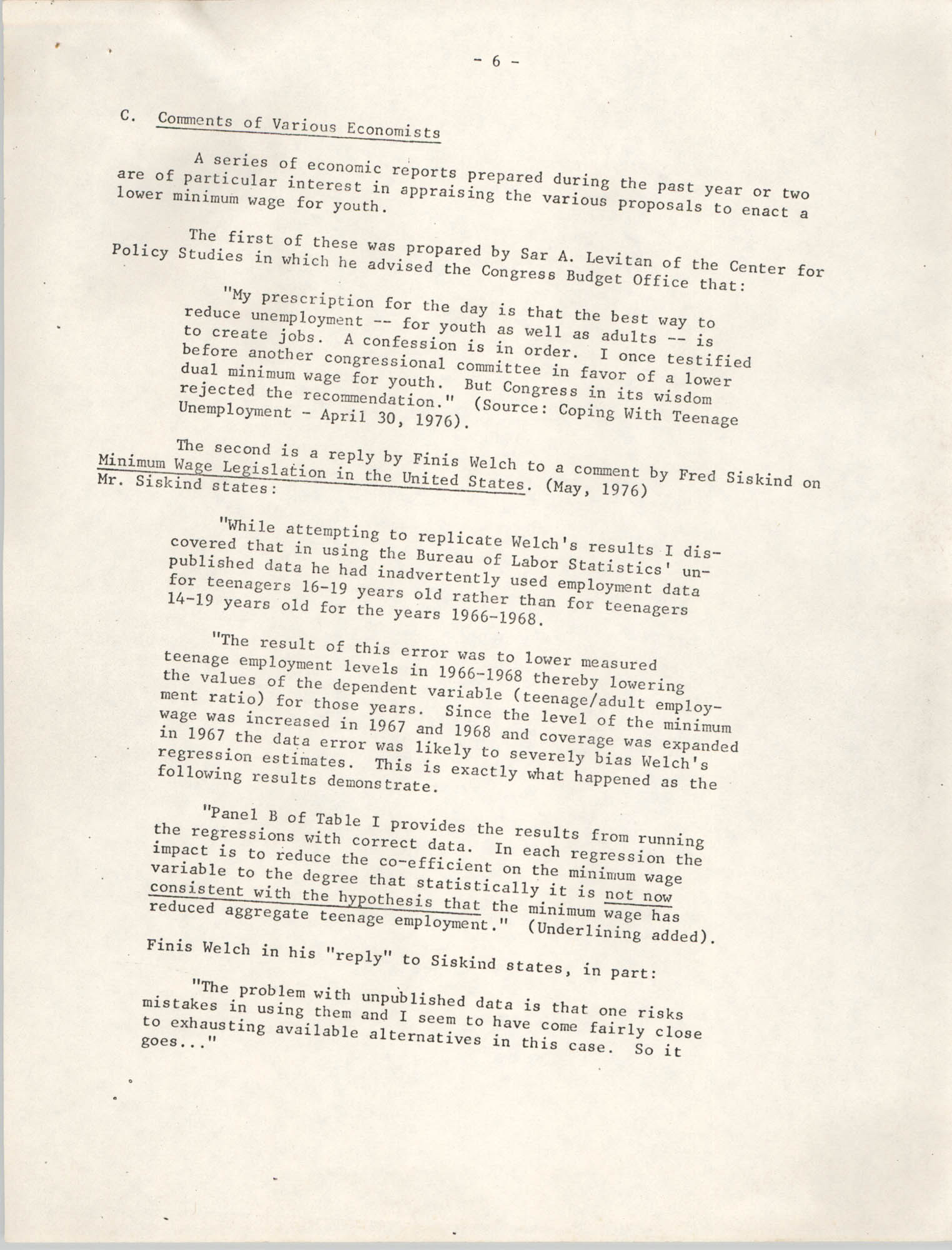 1977 Amendments to the Fair Labor Standards Act, Page 6