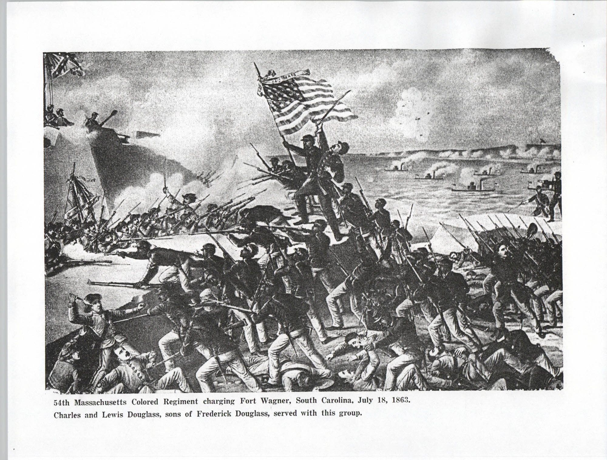 Ninety-Ninth Anniversary of the Battle of Fort Wagner Program, Page 3