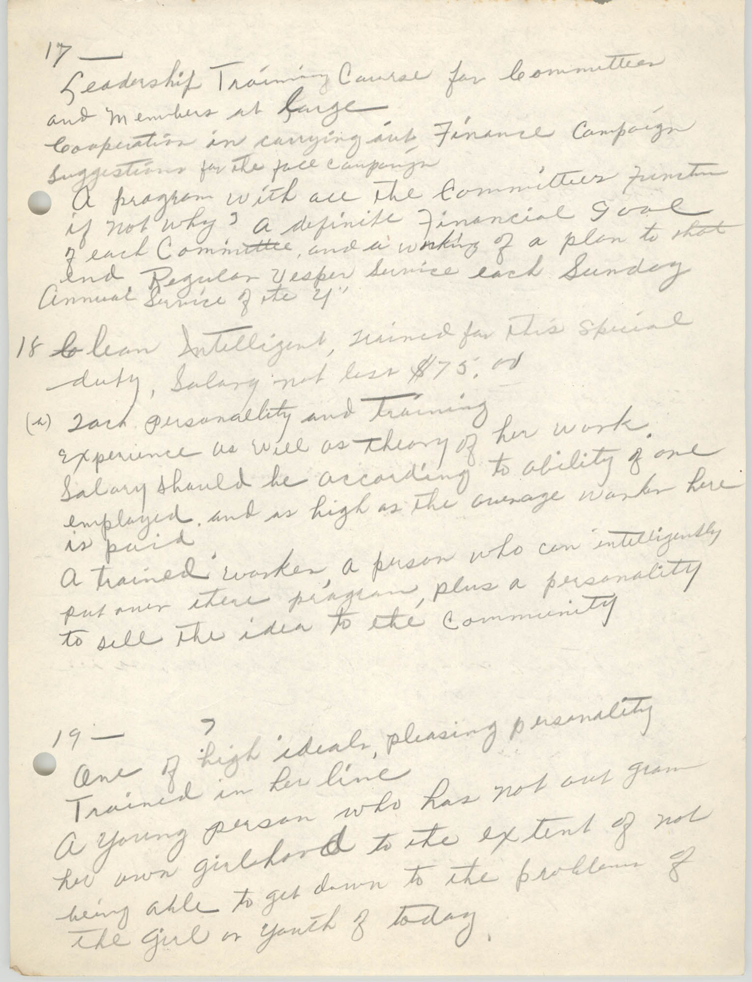 Coming Street Y.W.C.A., Completed Questionnaire Number 12, Page 7