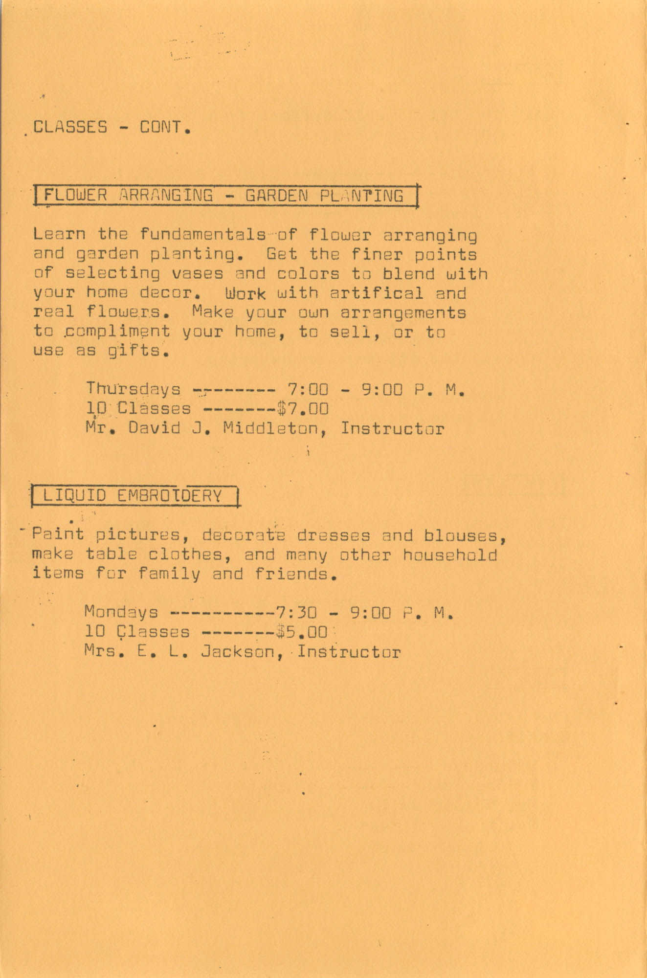 Coming Street Y.W.C.A. Fall Program, 1967, Page 5