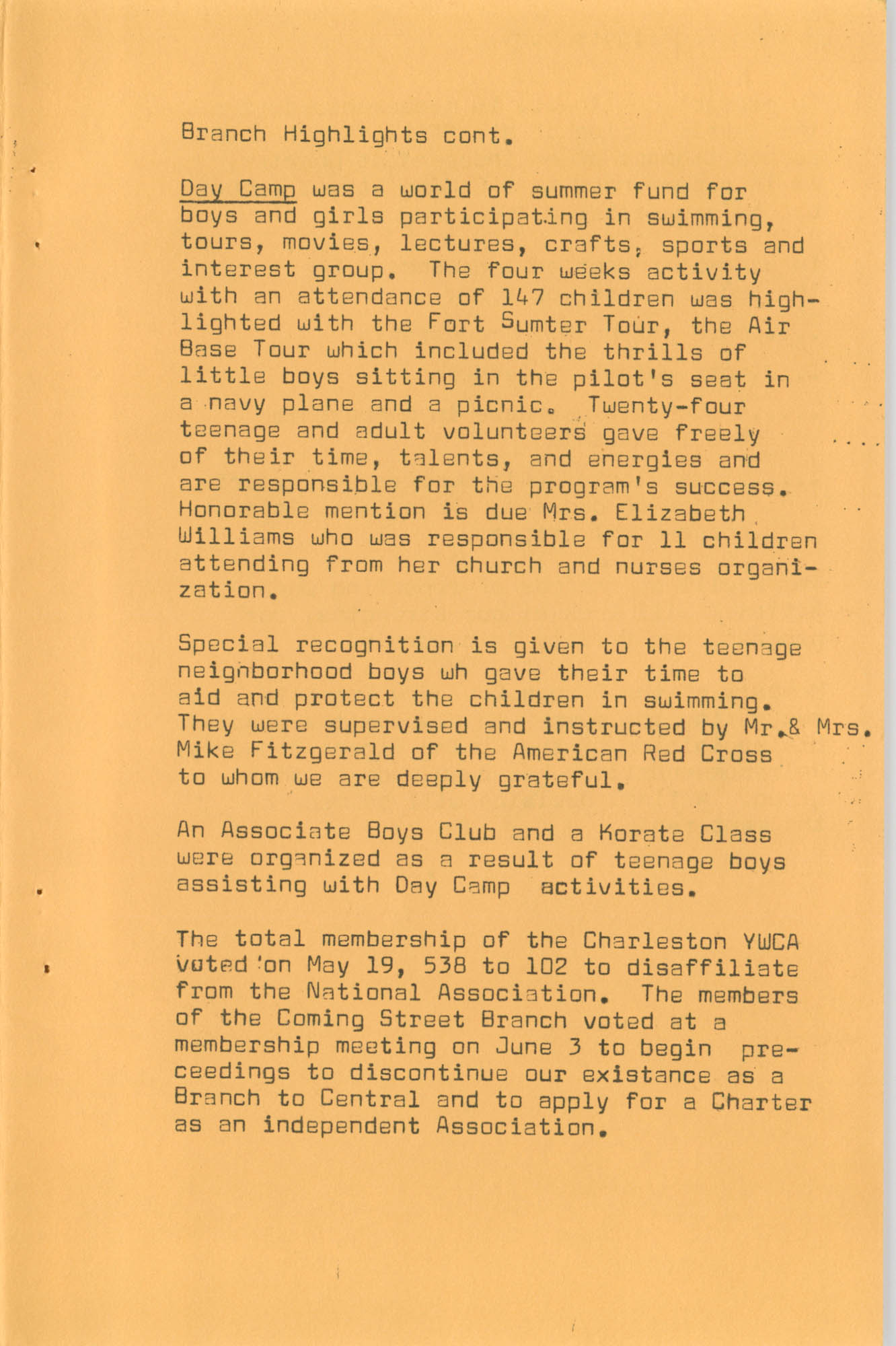 Coming Street Y.W.C.A. Fall Program, 1967, Page 12