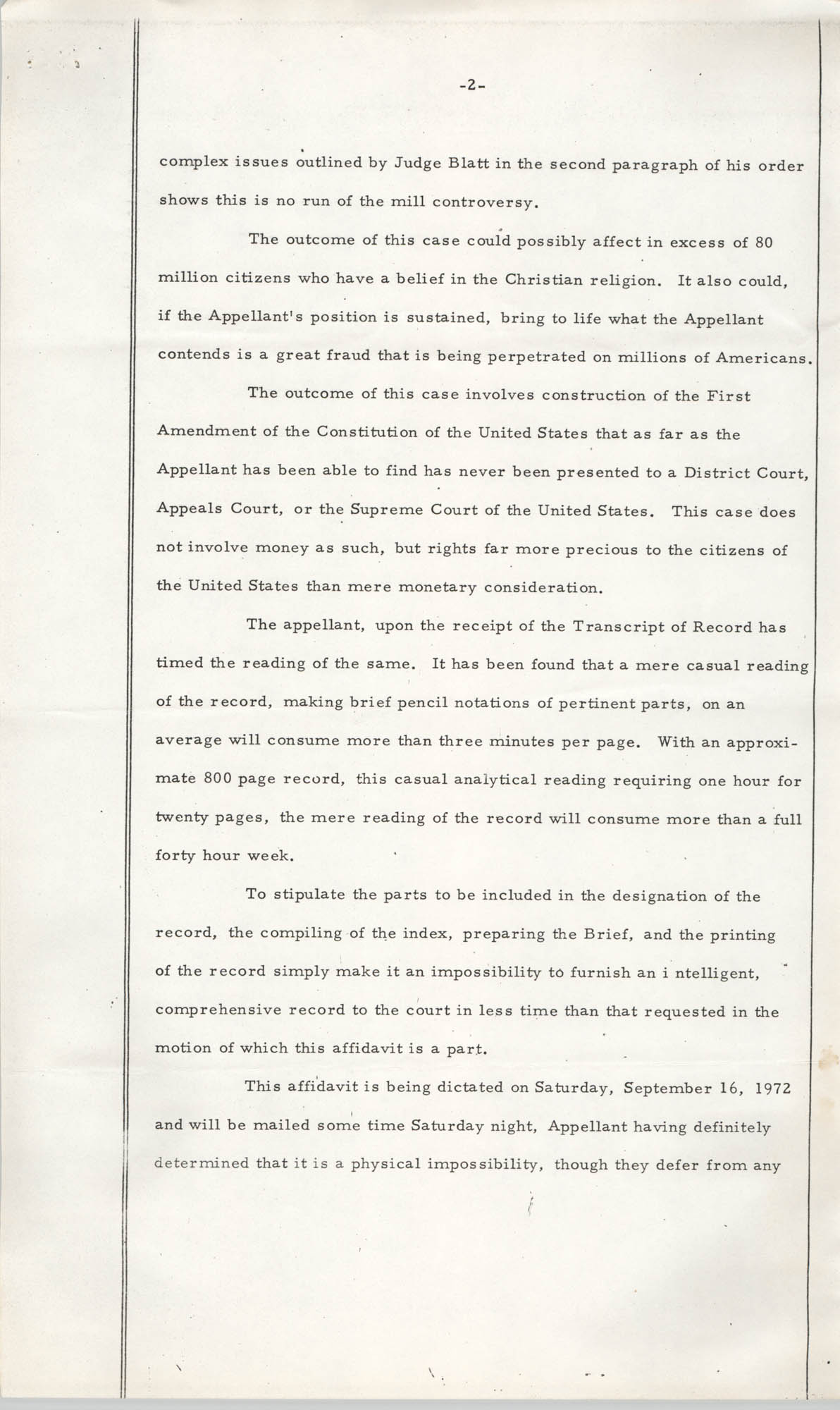 National Board of the Y.W.C.A. of the U.S.A. vs. Y.W.C.A. of Charleston South Carolina, No. 72-1062, Page 2