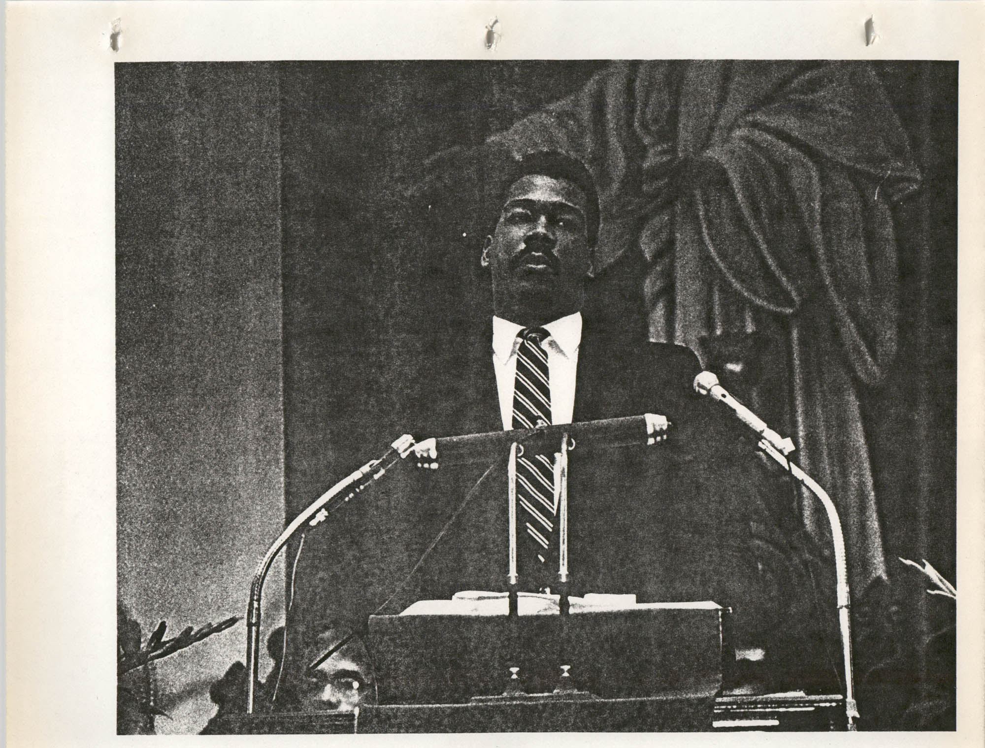 Martin Luther King, Jr. Scrapbook, 1988, Page 10