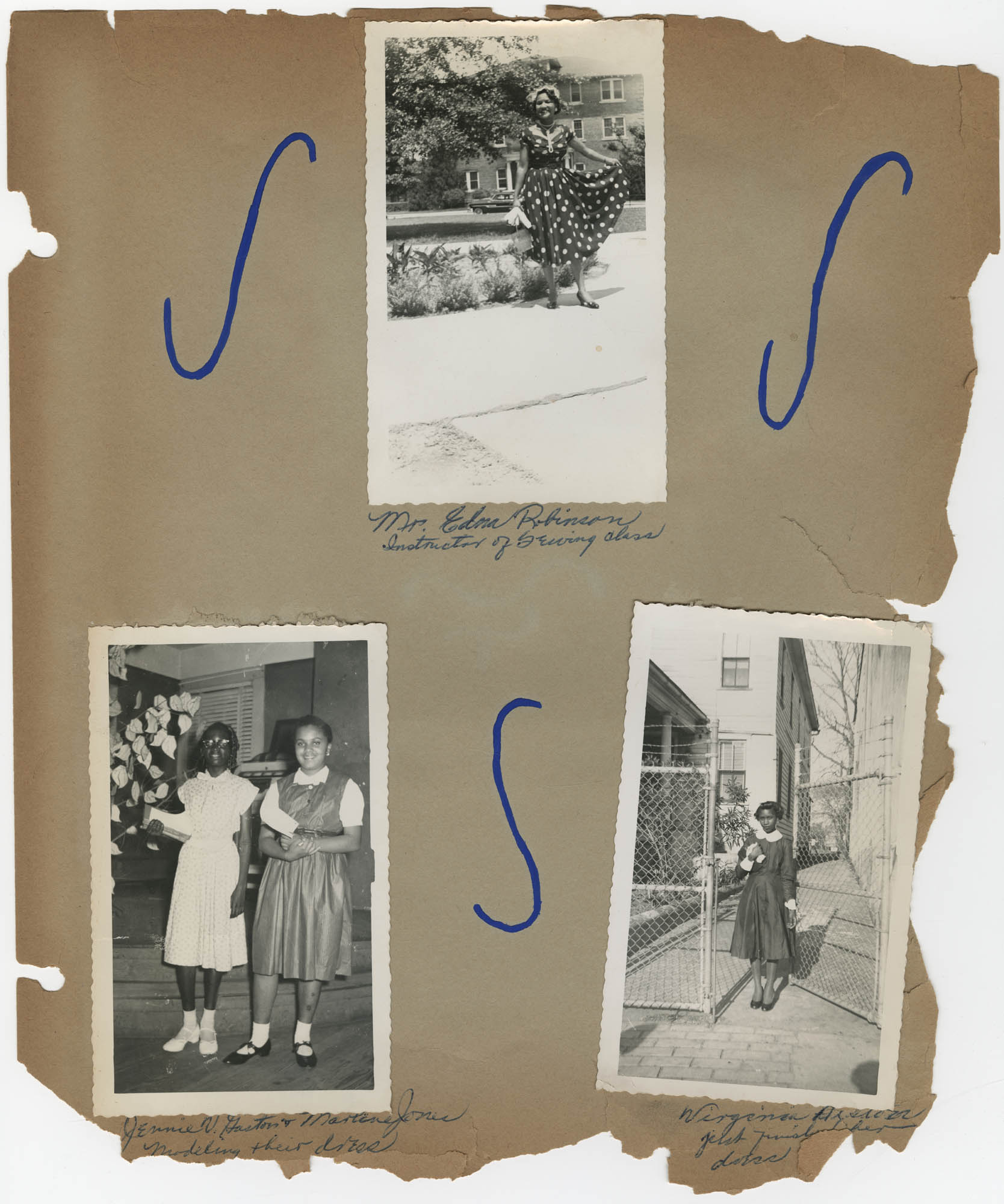 Coming Street Y.W.C.A. Scrapbook, 1953-1957, Page 13