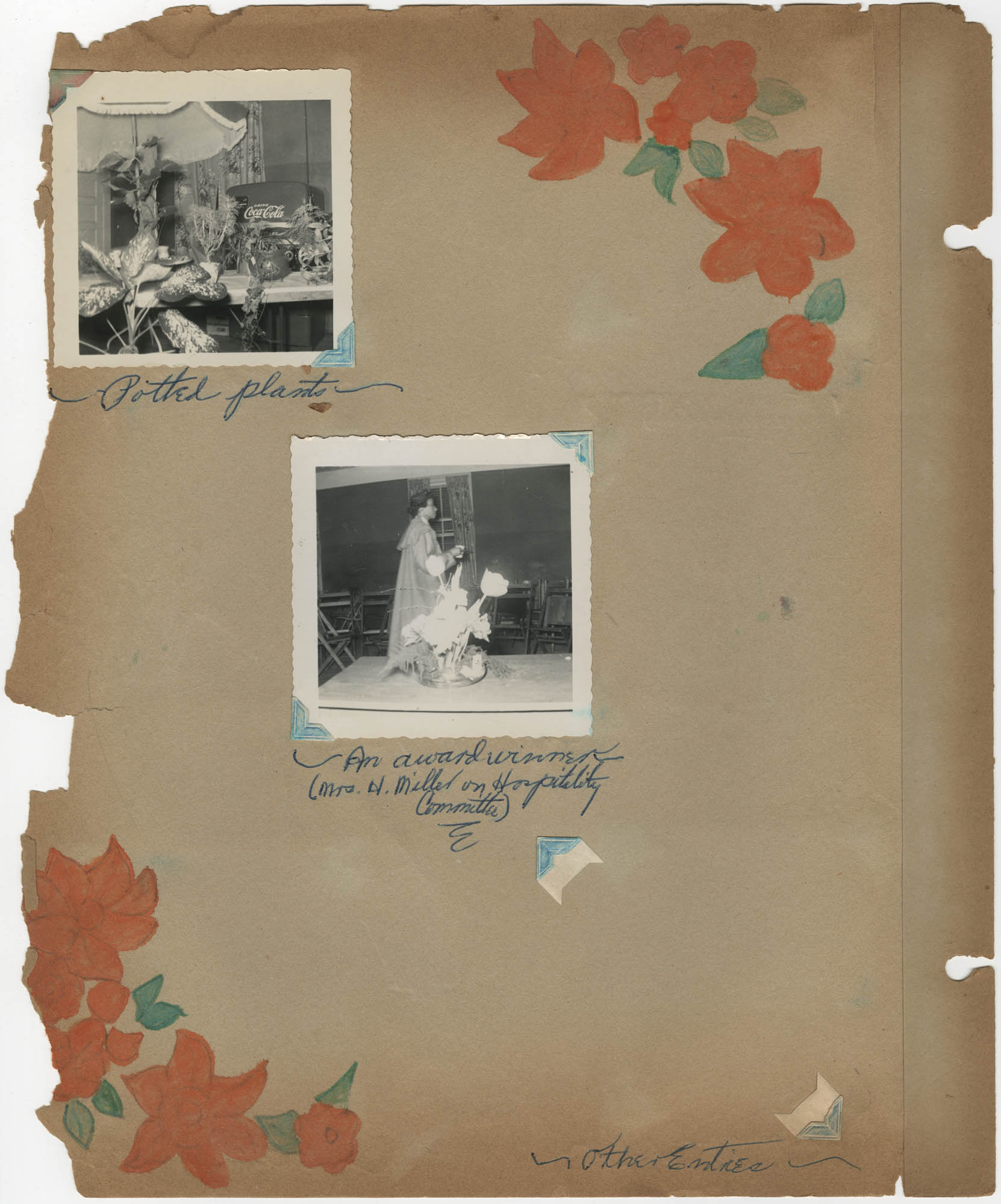 Coming Street Y.W.C.A. Scrapbook, 1953-1957, Page 102