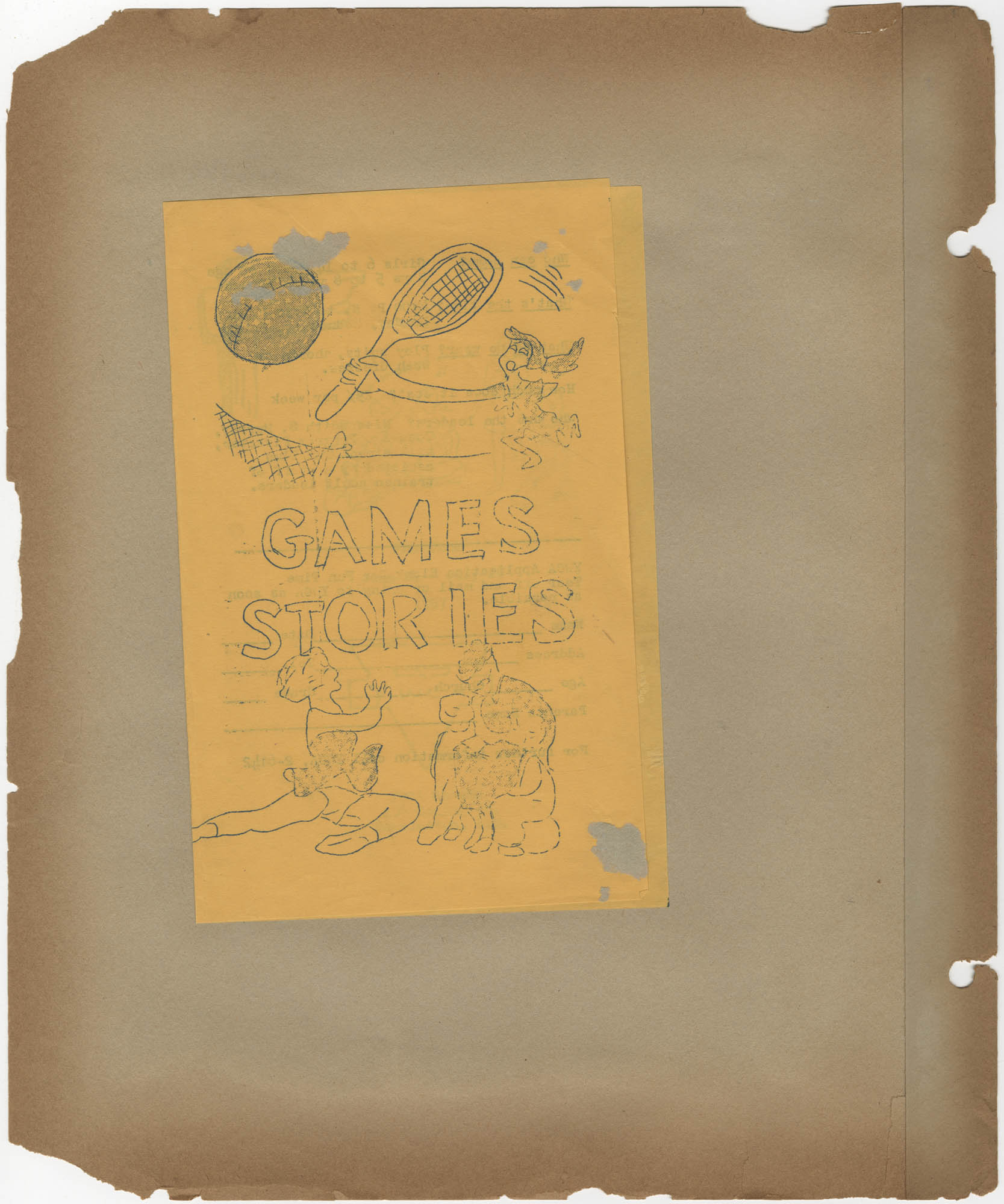 Coming Street Y.W.C.A. Scrapbook, 1953-1957, Page 107 Exterior