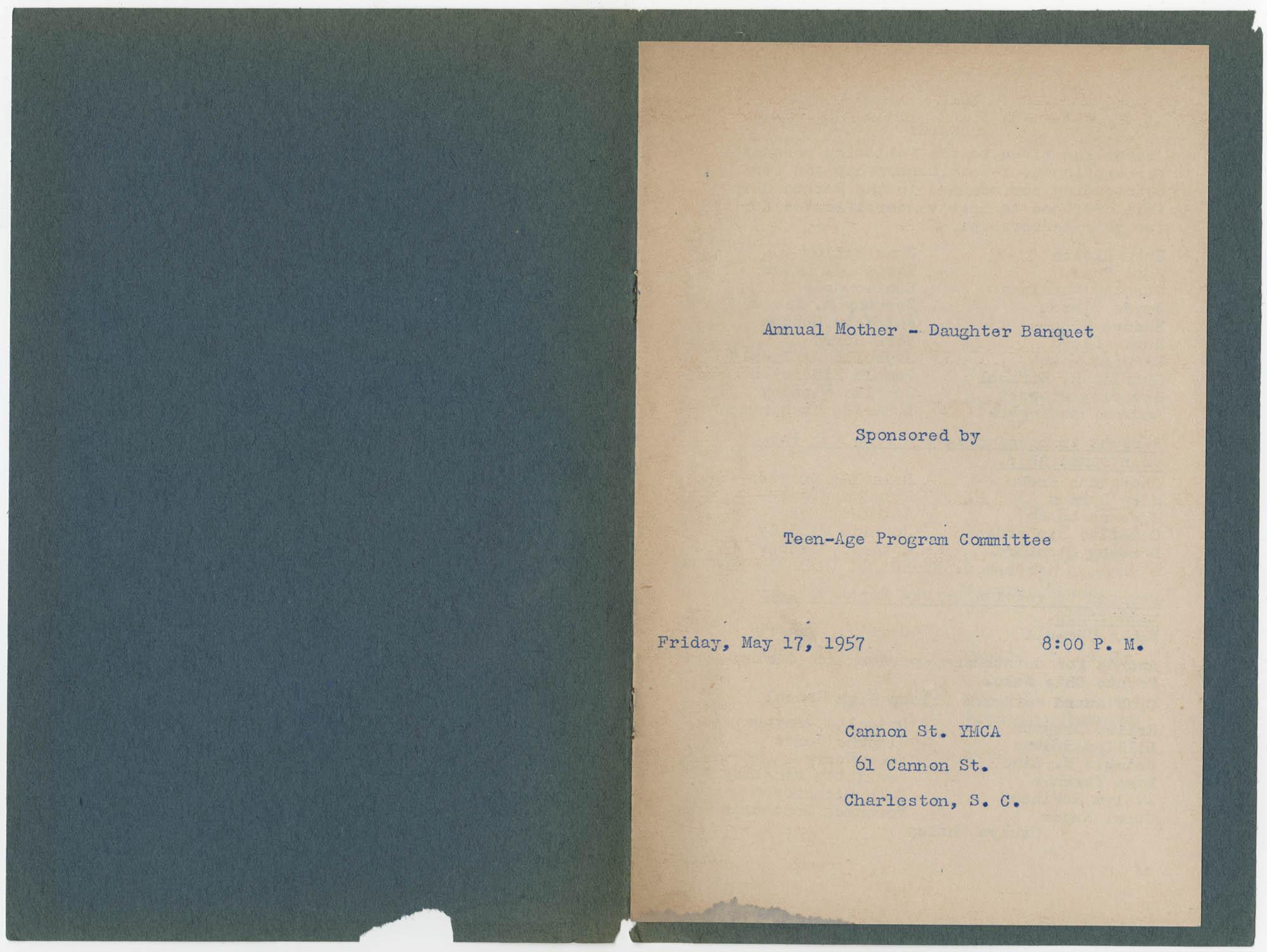 Coming Street Y.W.C.A. Scrapbook, 1953-1957, Page 135, Interior Page 1