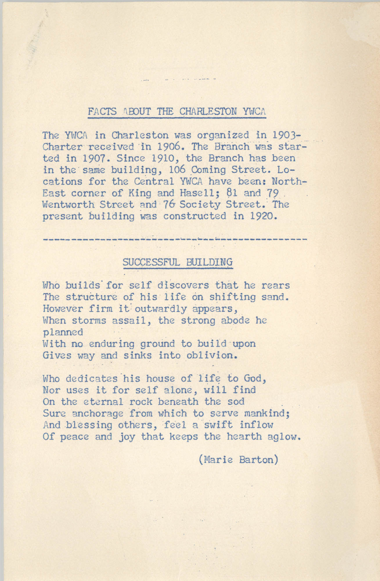 Coming Street Y.W.C.A. Scrapbook, 1953-1957, Page 141