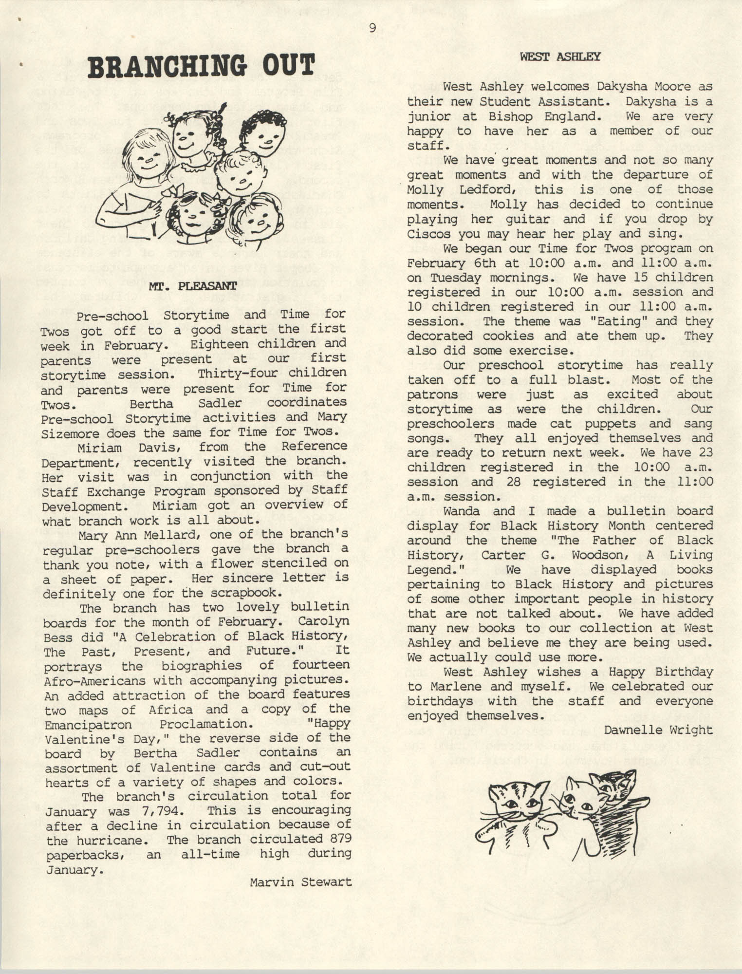 The Lion's Roar, February 1990, Page 9