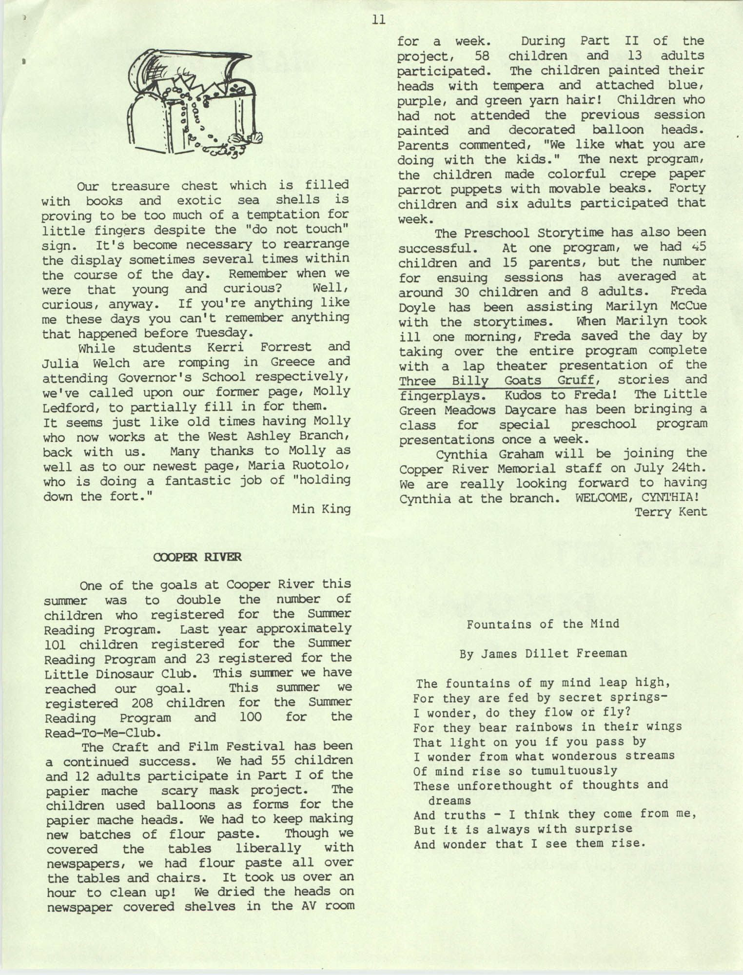 The Lion's Roar, July 1989, Page 11