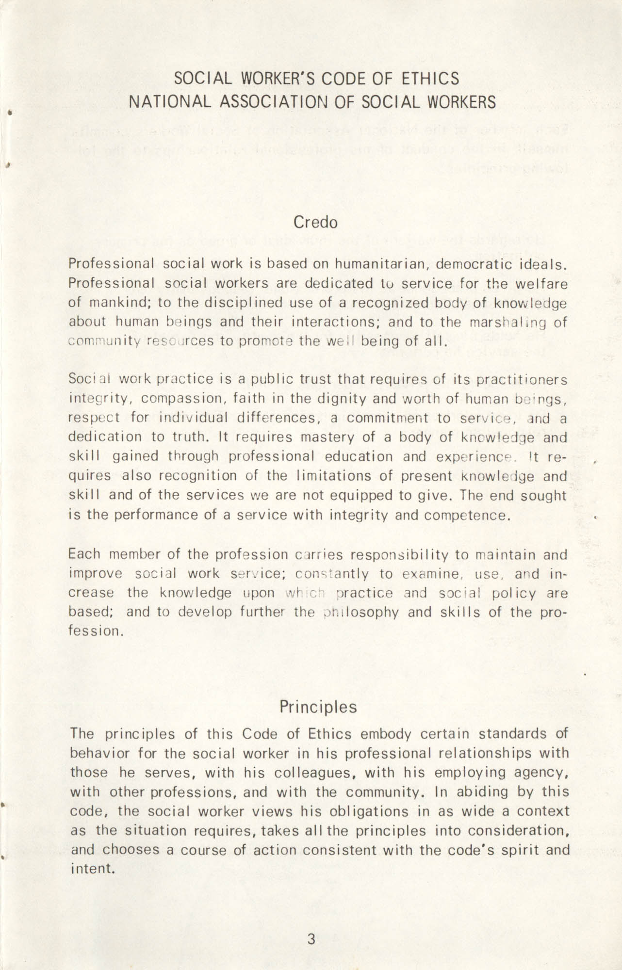 State of South Carolina Directory of Registered Social Workers, 1972, Page 3