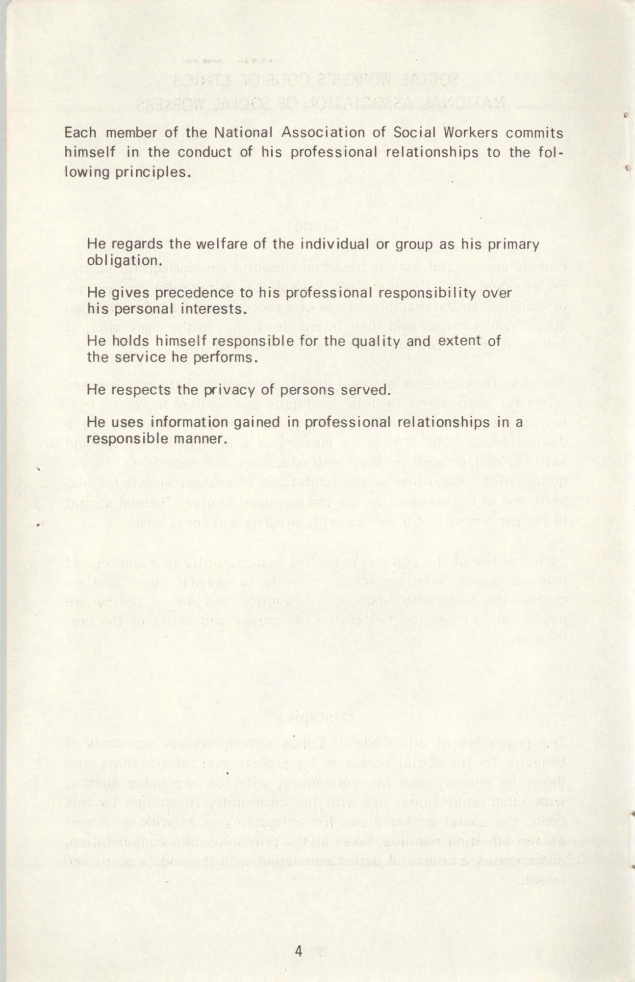 State of South Carolina Directory of Registered Social Workers, 1972, Page 4