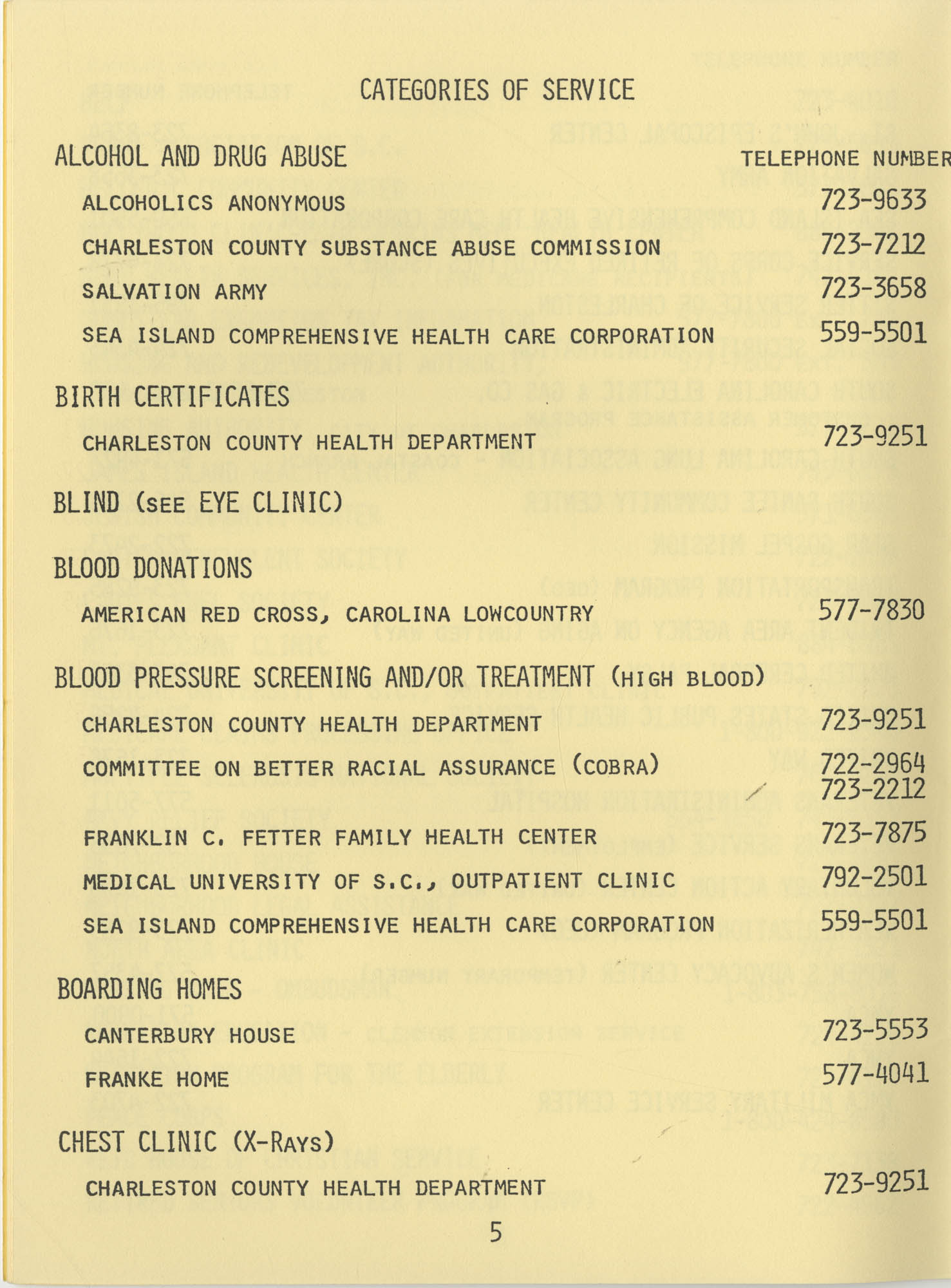 Telephone Line to Care for the Elderly, Page 5