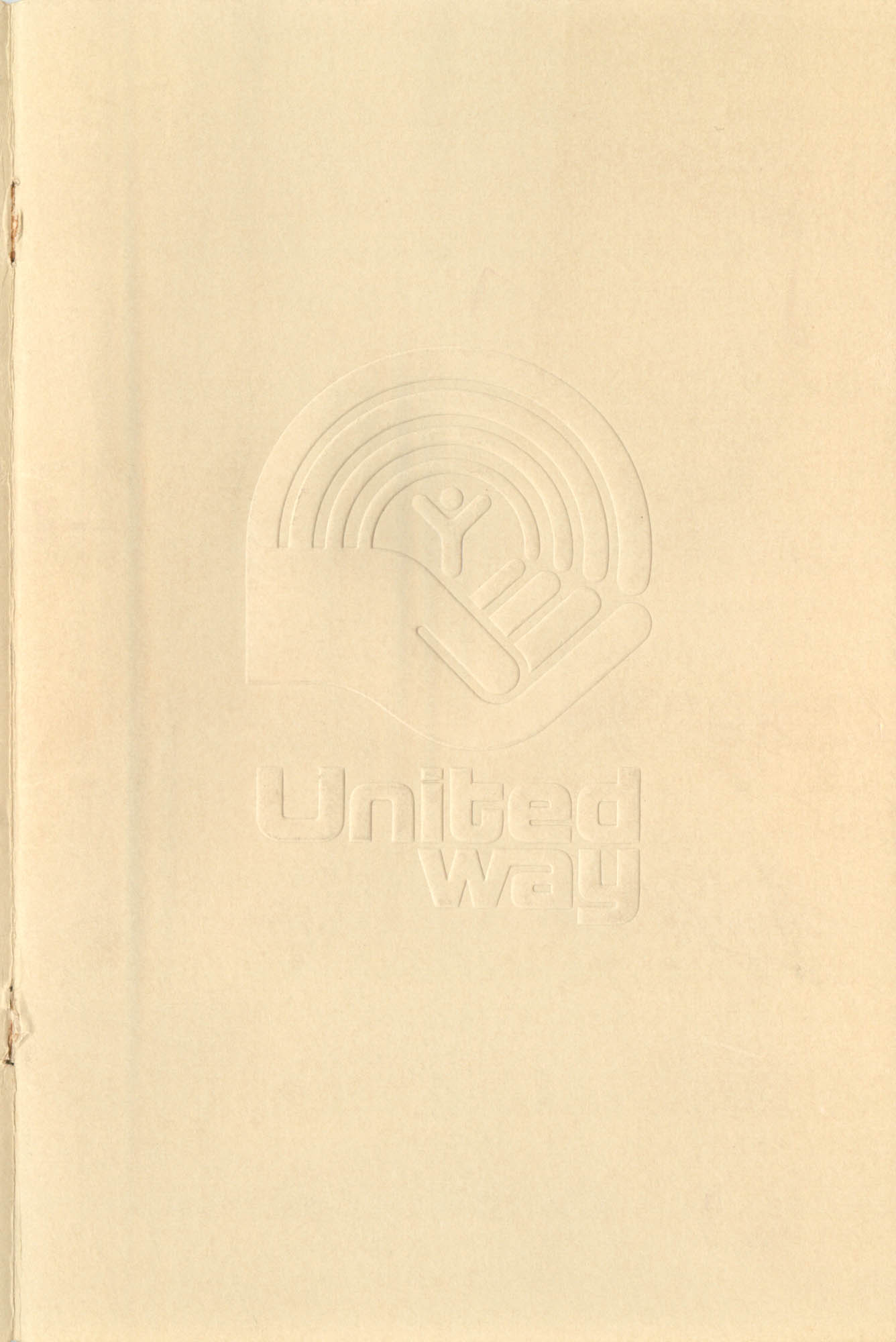 Trident United Way Annual Report, 1980, Front Cover