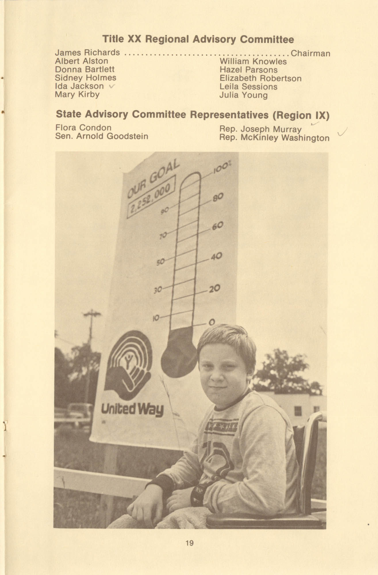 Trident United Way Annual Report, 1980, Page 19