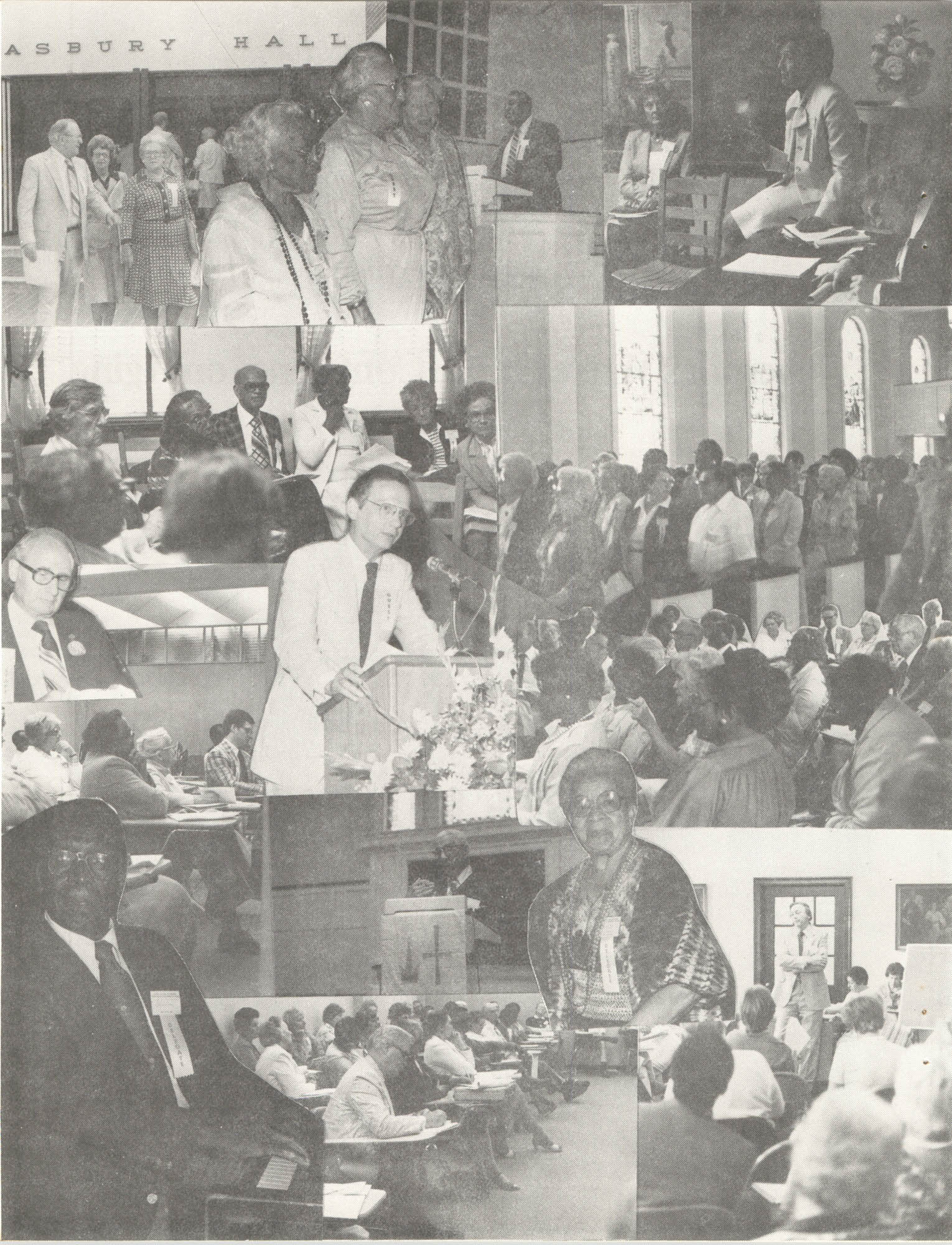South Carolina Governor's White House Conference on Aging Proceedings, 1981, Collage