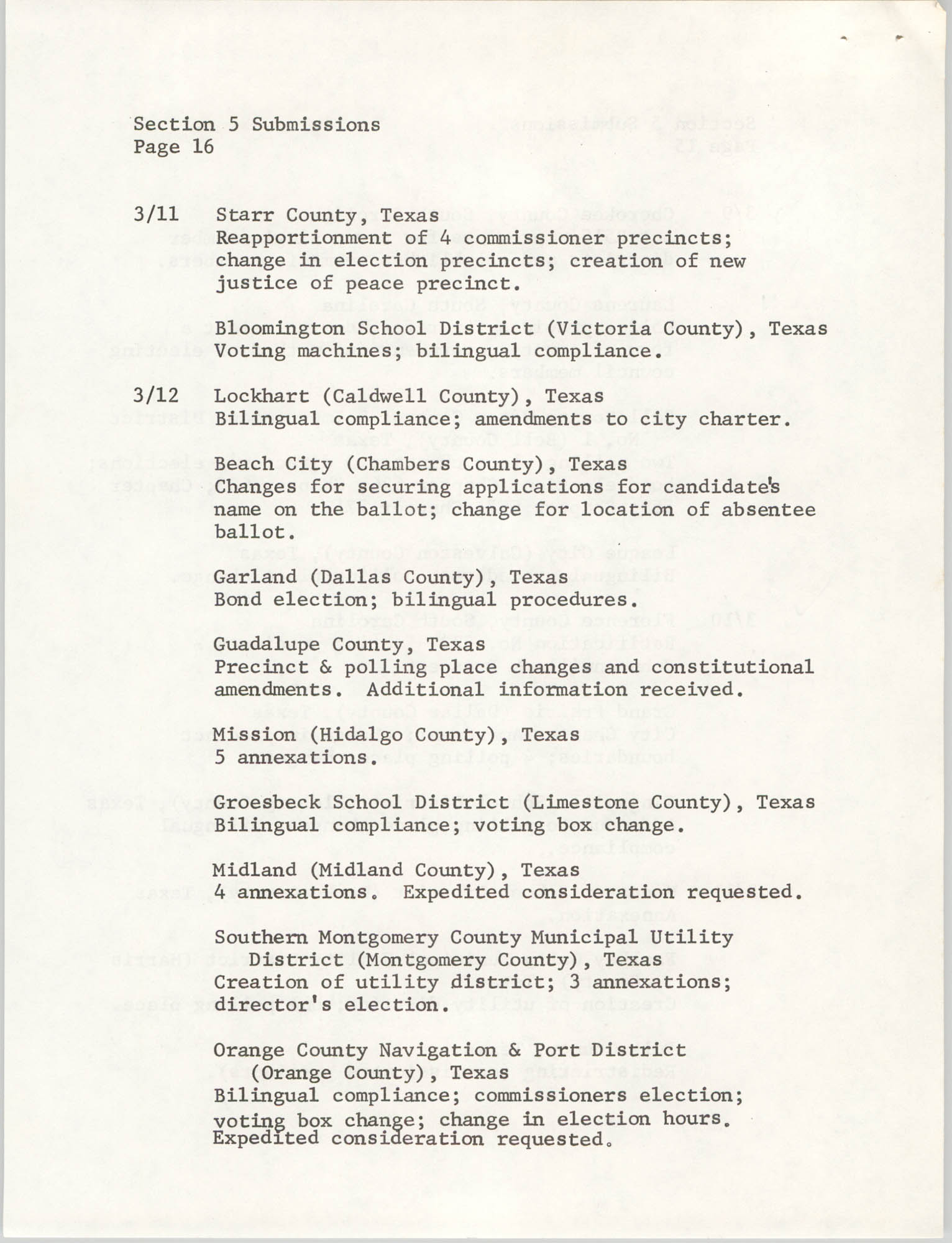 United States Department of Justice Notice, March 26, 1976, Page 16
