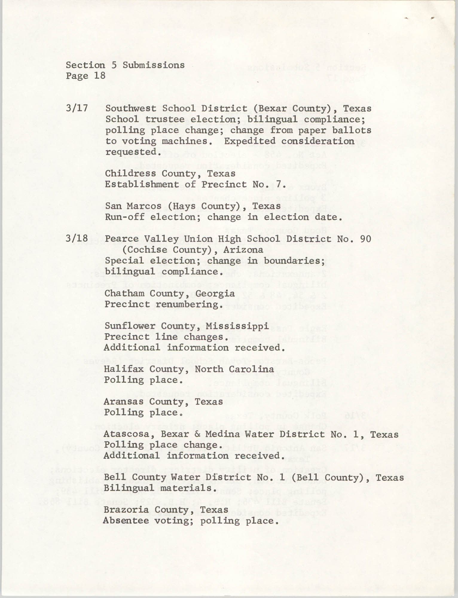 United States Department of Justice Notice, March 26, 1976, Page 18