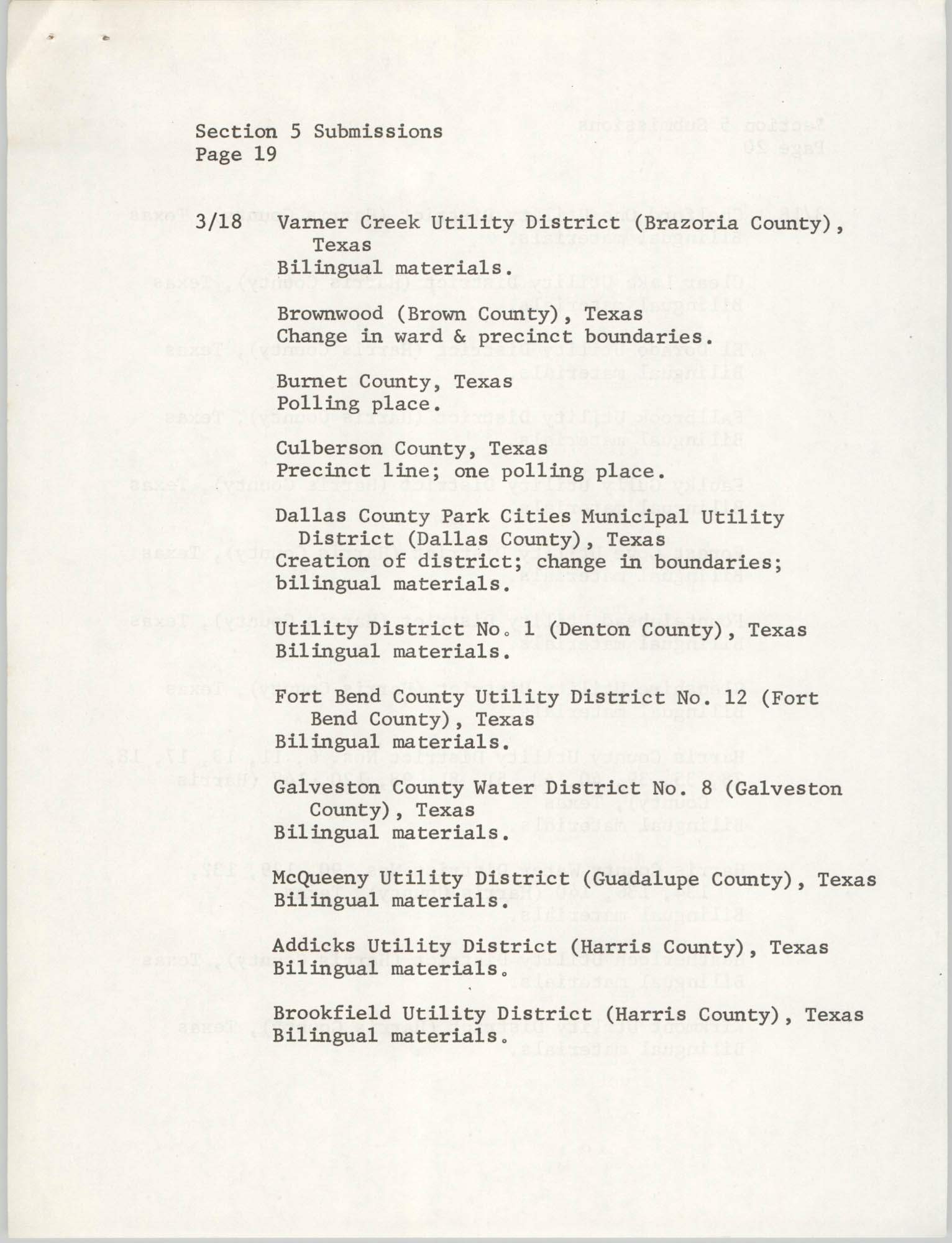 United States Department of Justice Notice, March 26, 1976, Page 19