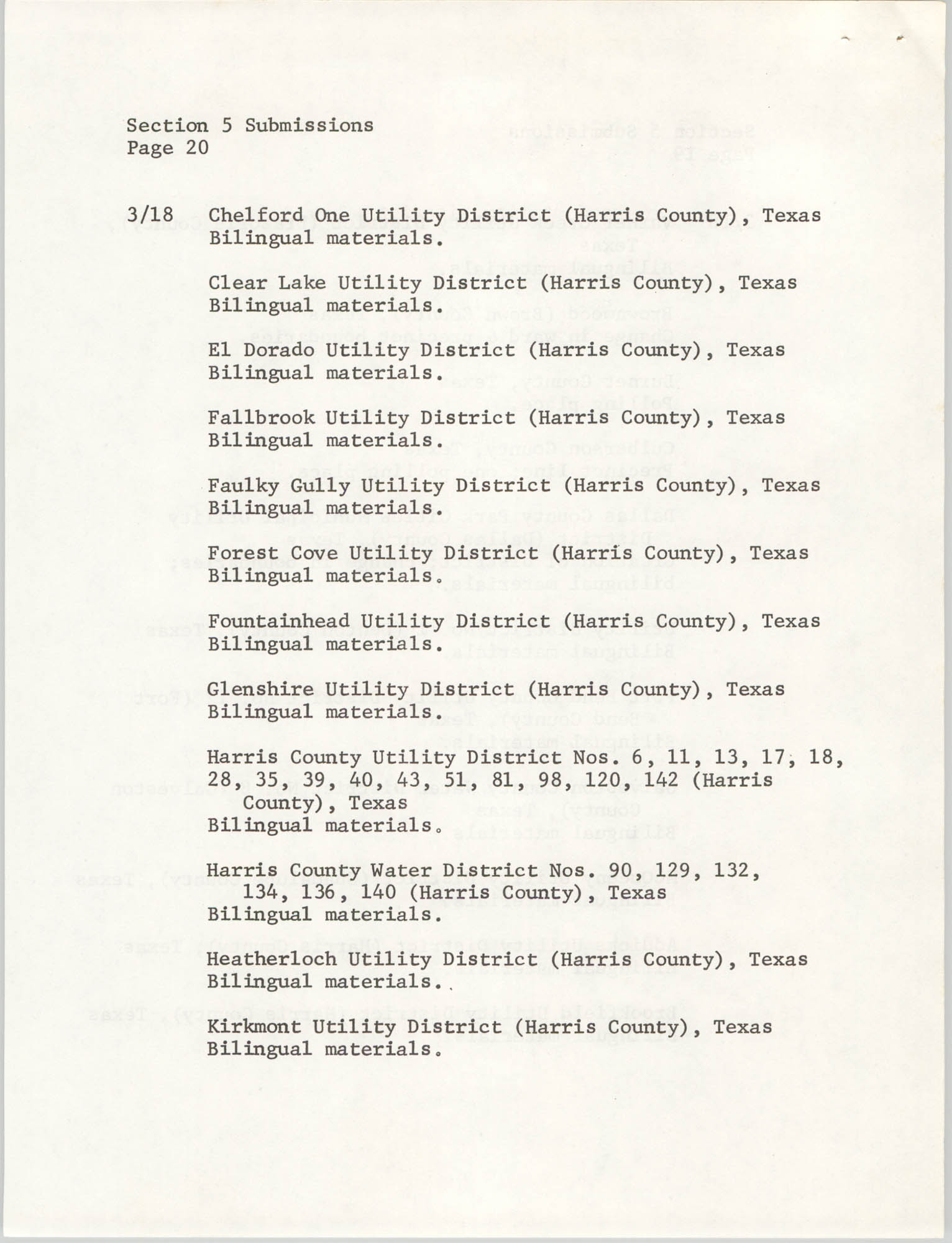 United States Department of Justice Notice, March 26, 1976, Page 20