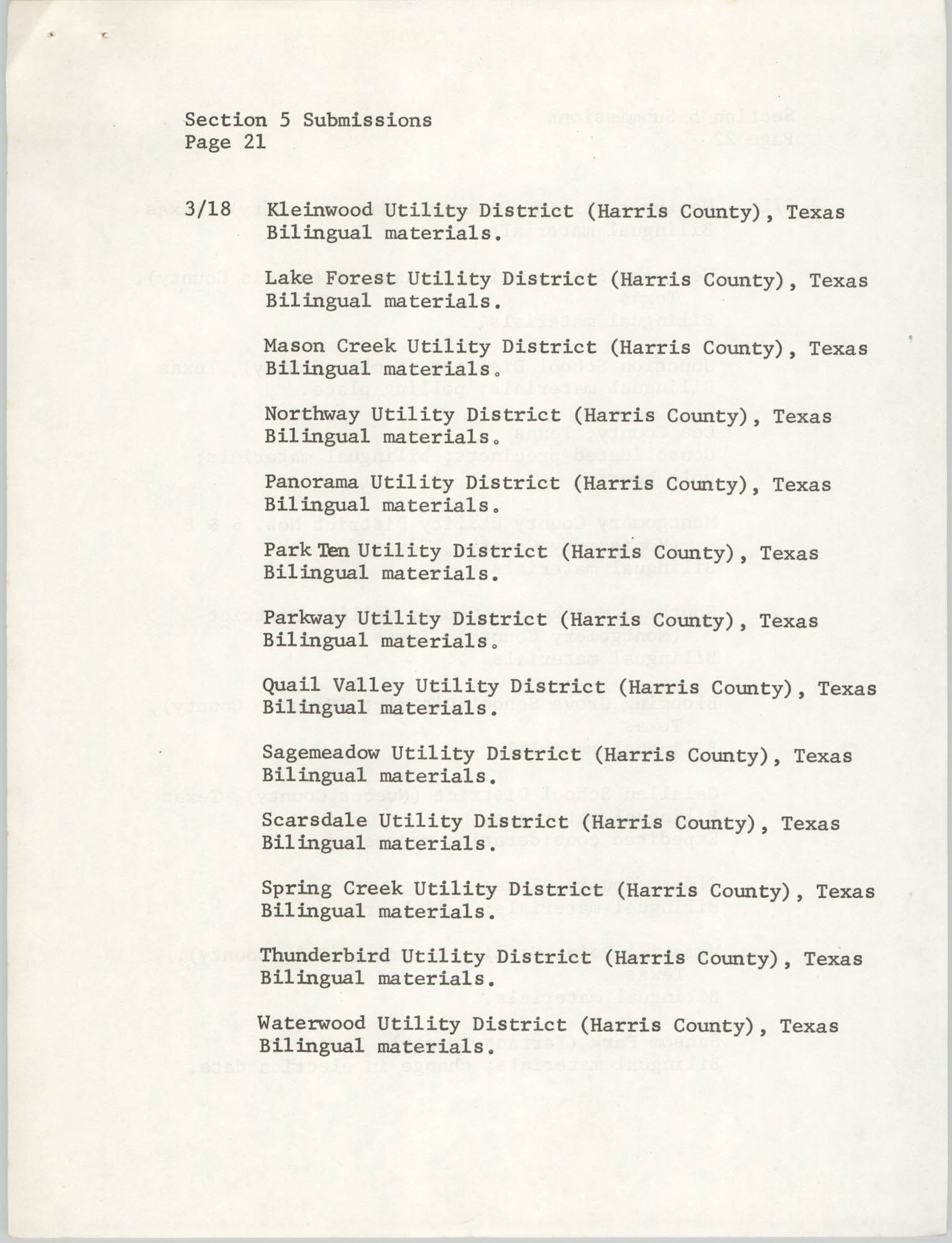 United States Department of Justice Notice, March 26, 1976, Page 21