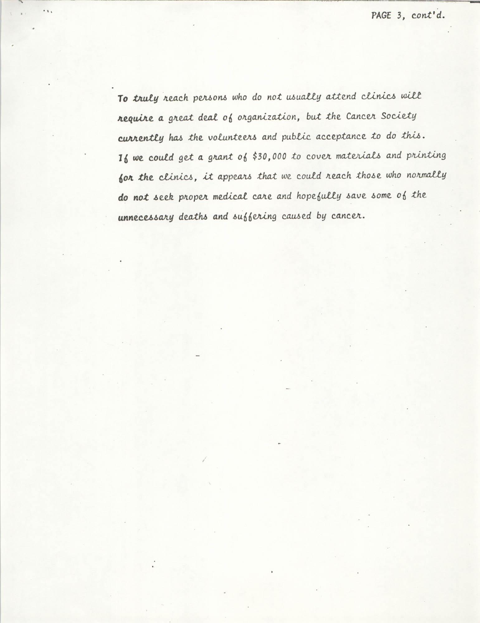 American Cancer Society Program, Page 3b