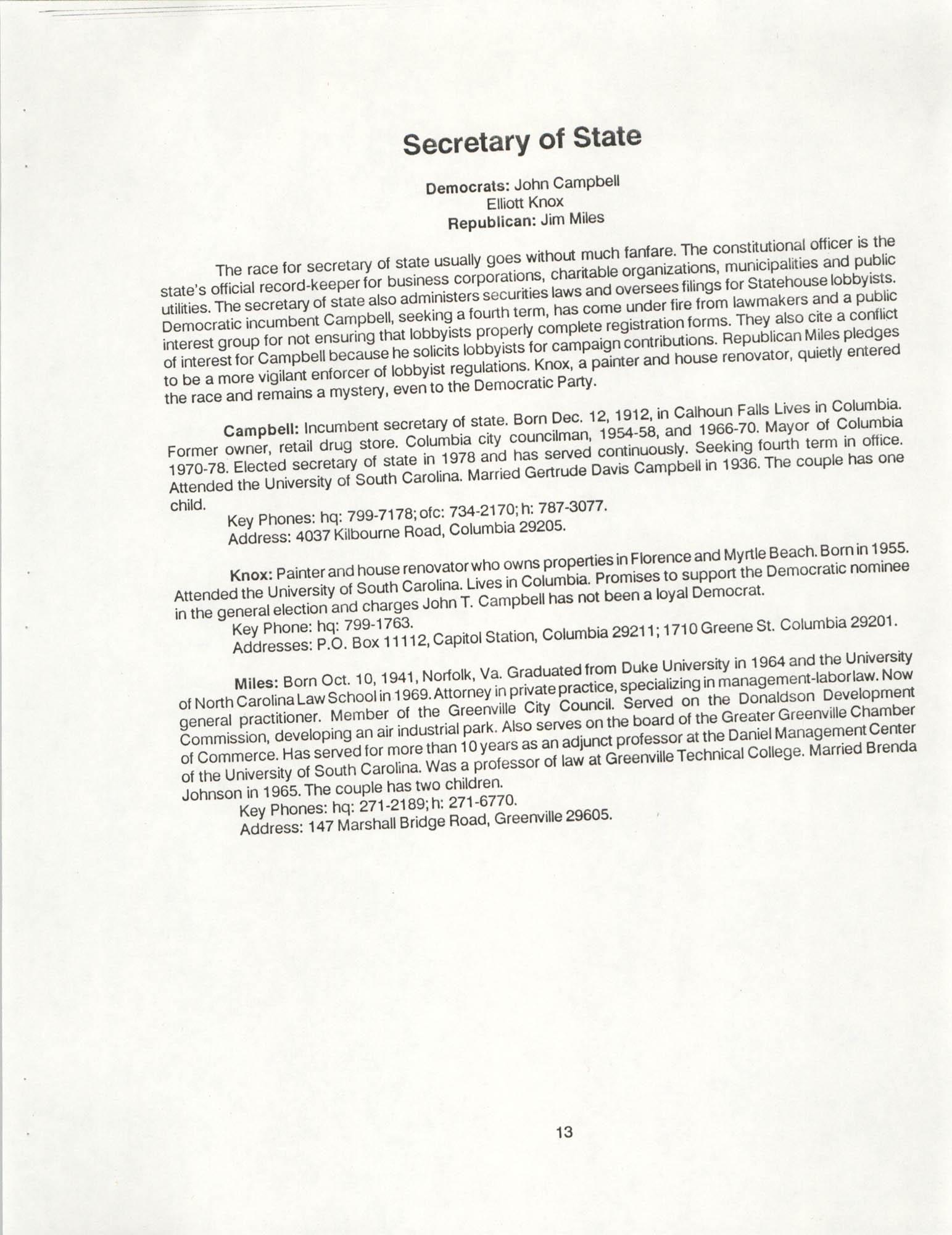 1990 Elections Handbook, Page 13