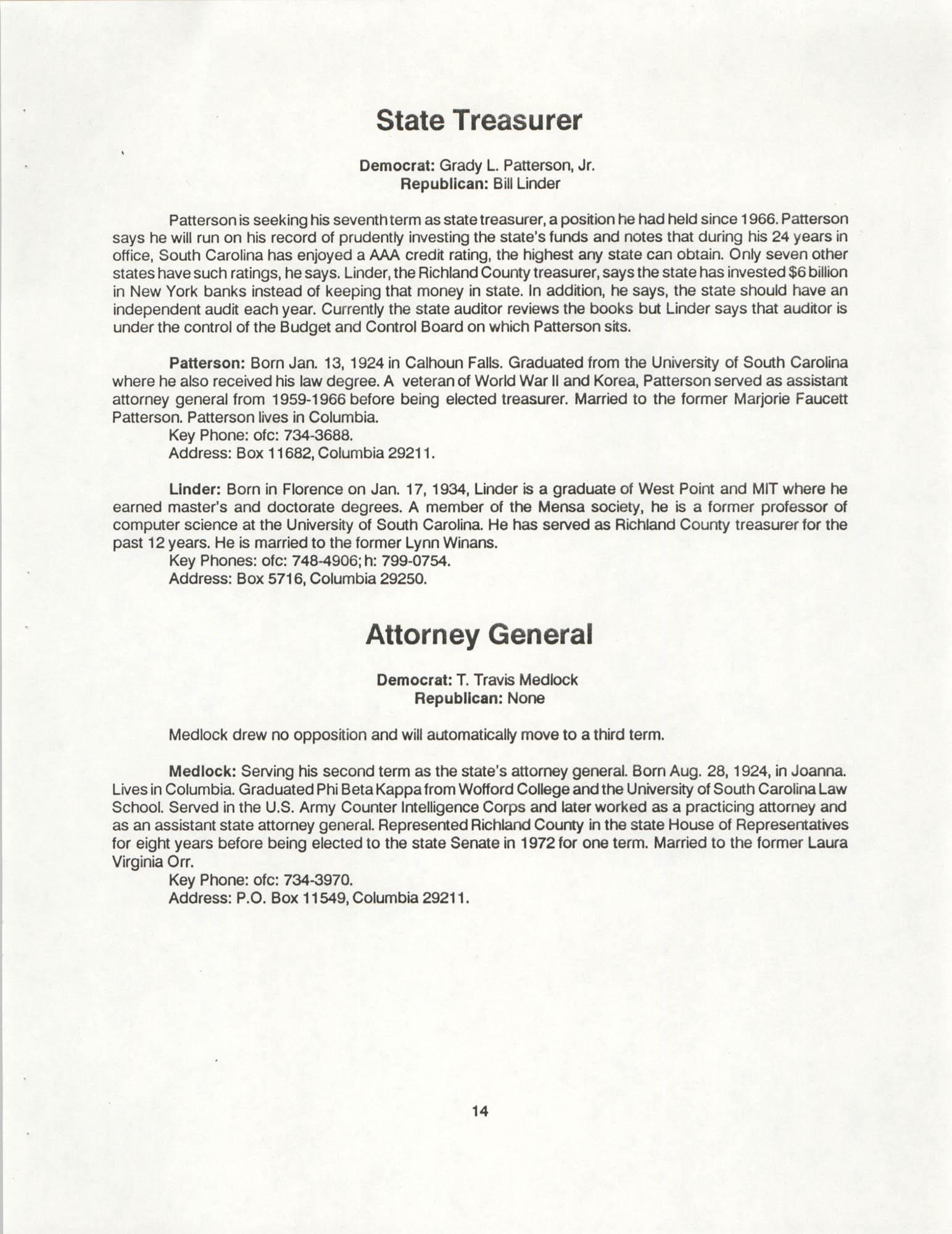 1990 Elections Handbook, Page 14