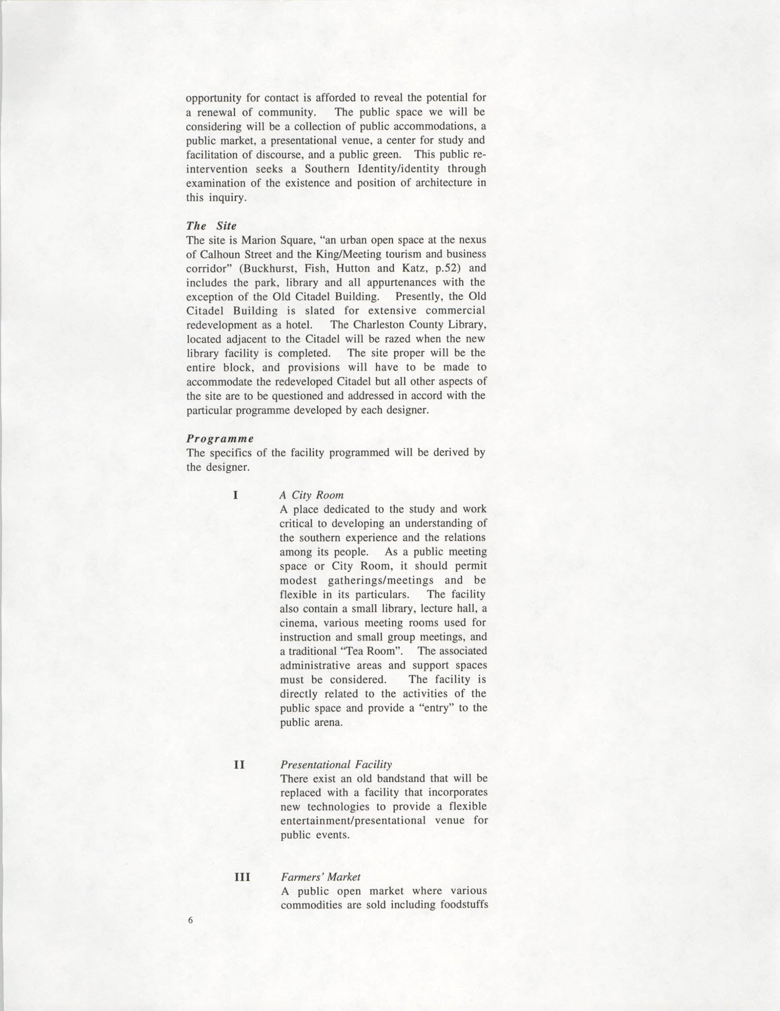 Academic Project Statement, Page 6