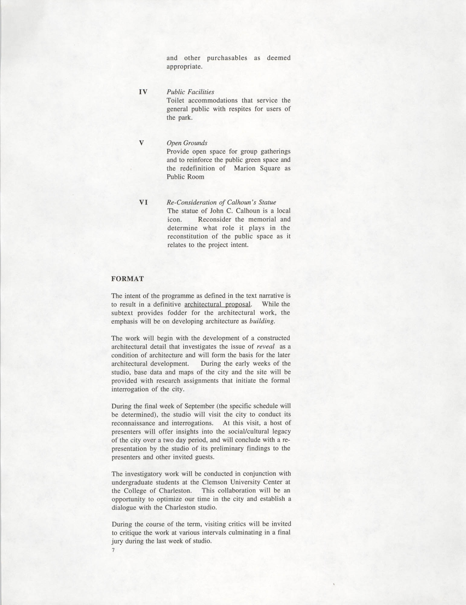 Academic Project Statement, Page 7