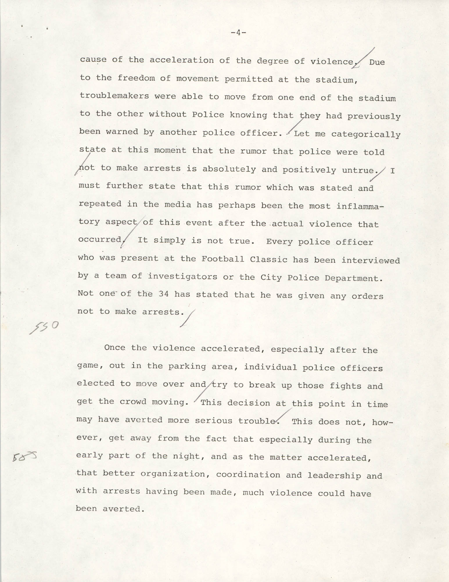 Typescript Speech on the Sertoma Football Classic, Page 4
