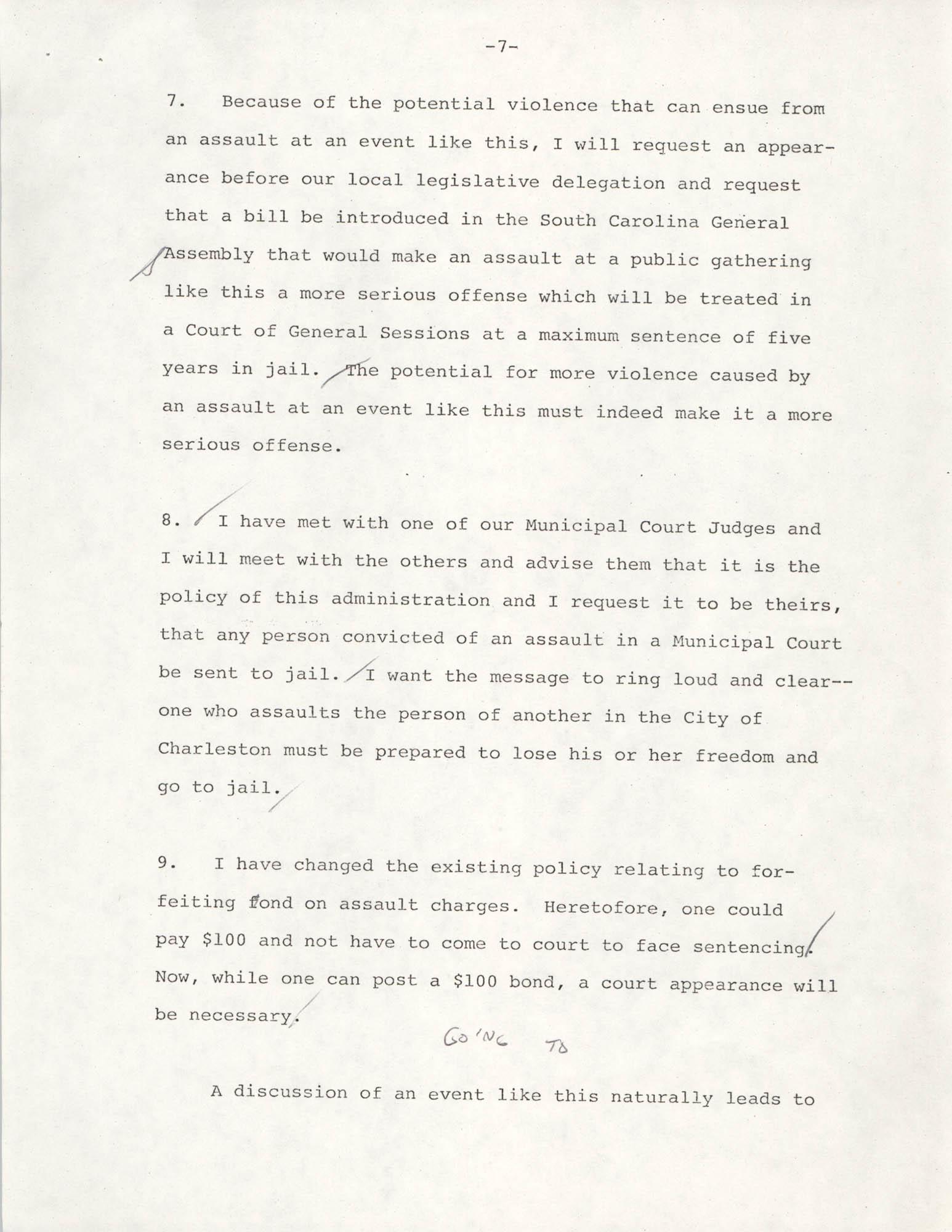 Typescript Speech on the Sertoma Football Classic, Page 7