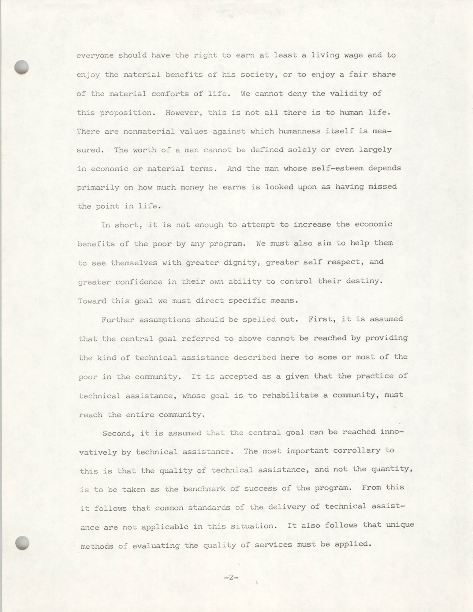 COBRA Philosophy of Technical Assistance, Page 2