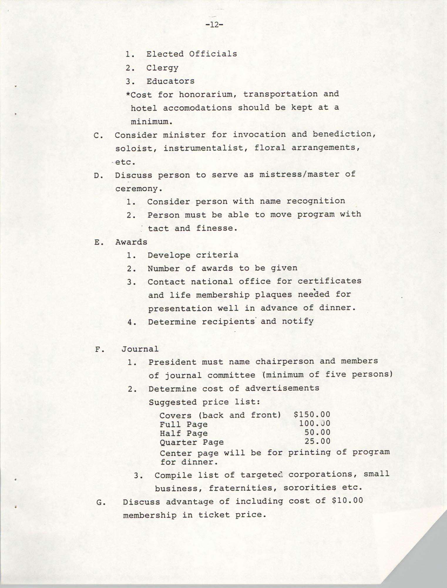 NAACP Mandatory Training Handbook, 1989, Page 12