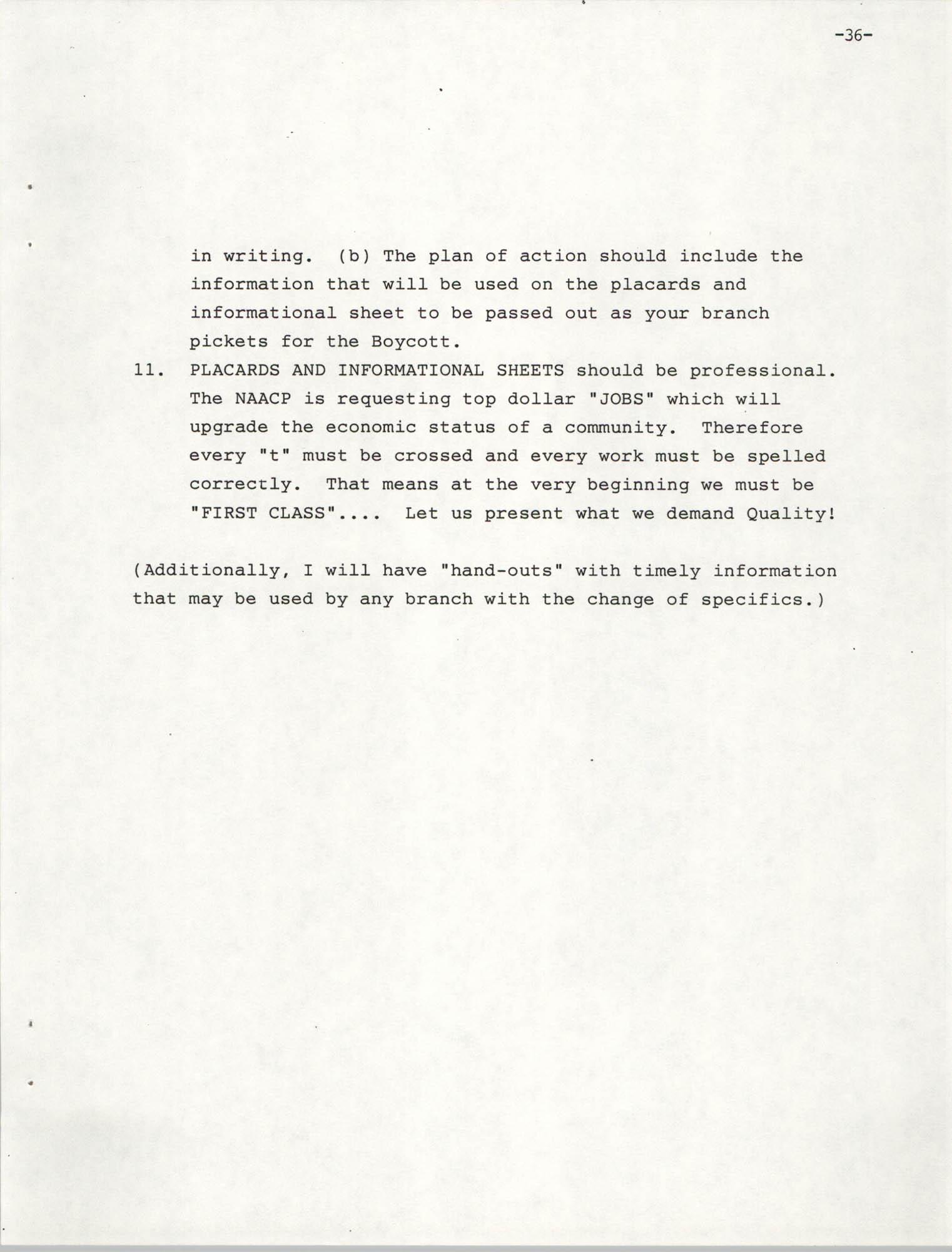 NAACP Mandatory Training Handbook, 1989, Page 36