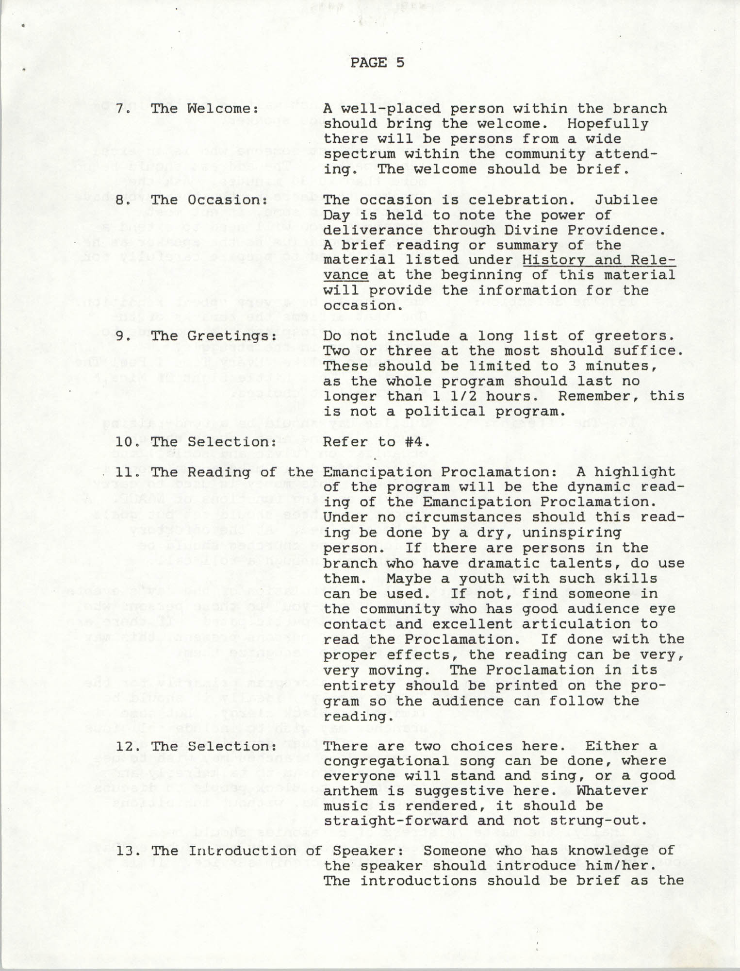 NAACP Memorandum, November 10, 1990, Page 5