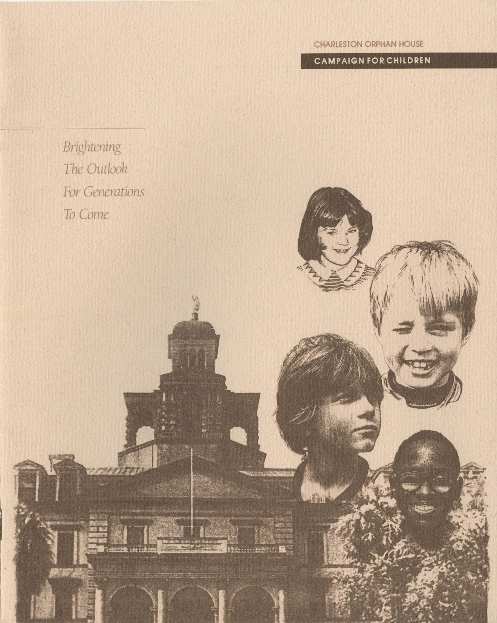 Campaign for Children: Brightening the Outlook for Generations to Come, Front Cover Exterior
