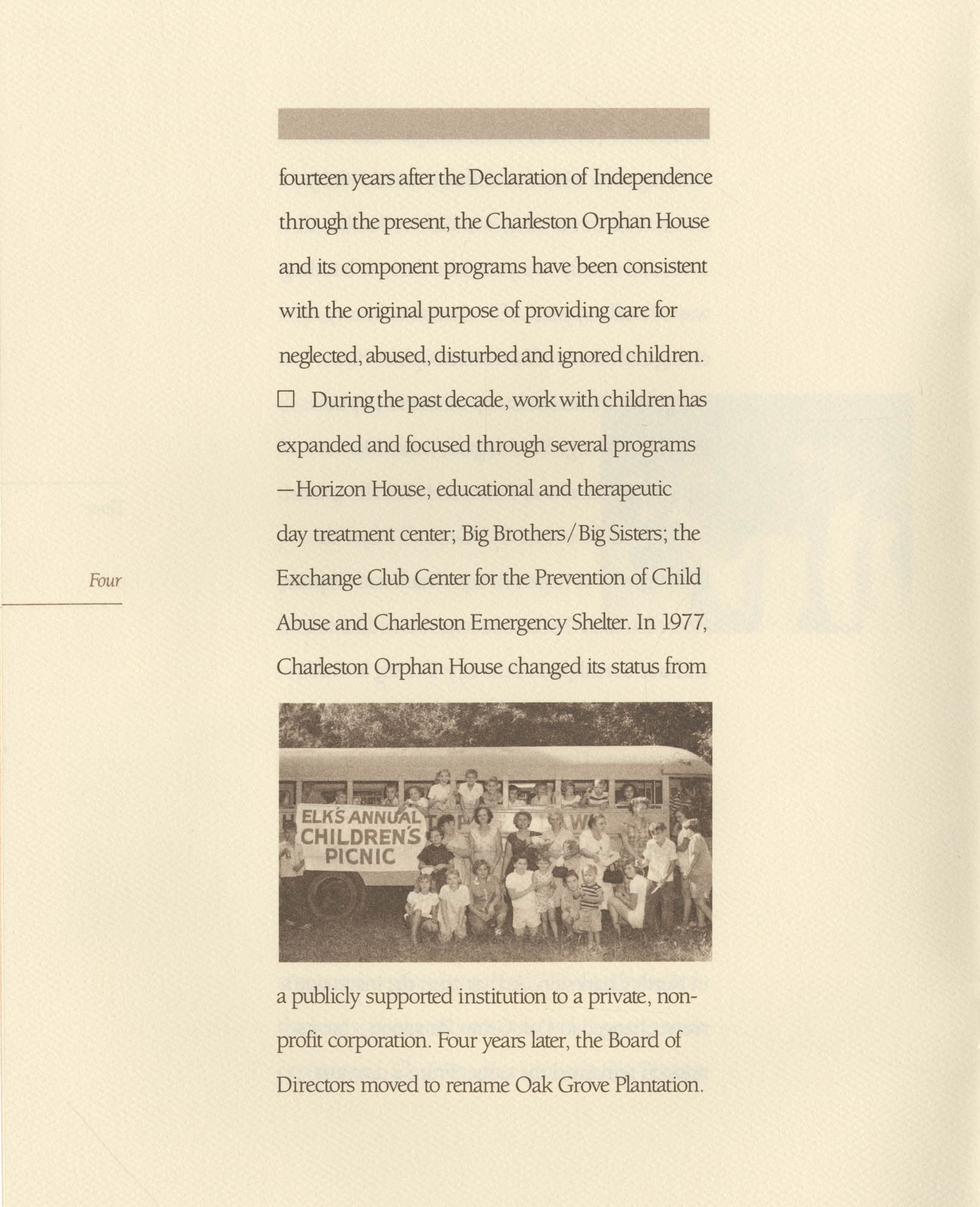 Campaign for Children: Brightening the Outlook for Generations to Come, Page 4