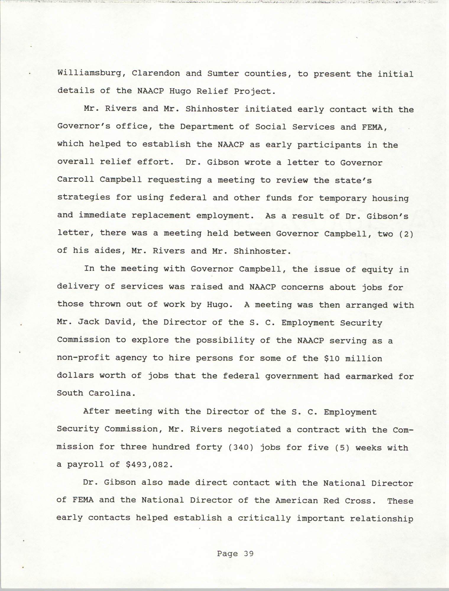 South Carolina Conference of Branches of the NAACP, 1990 Annual Report, Part Two, Page 39