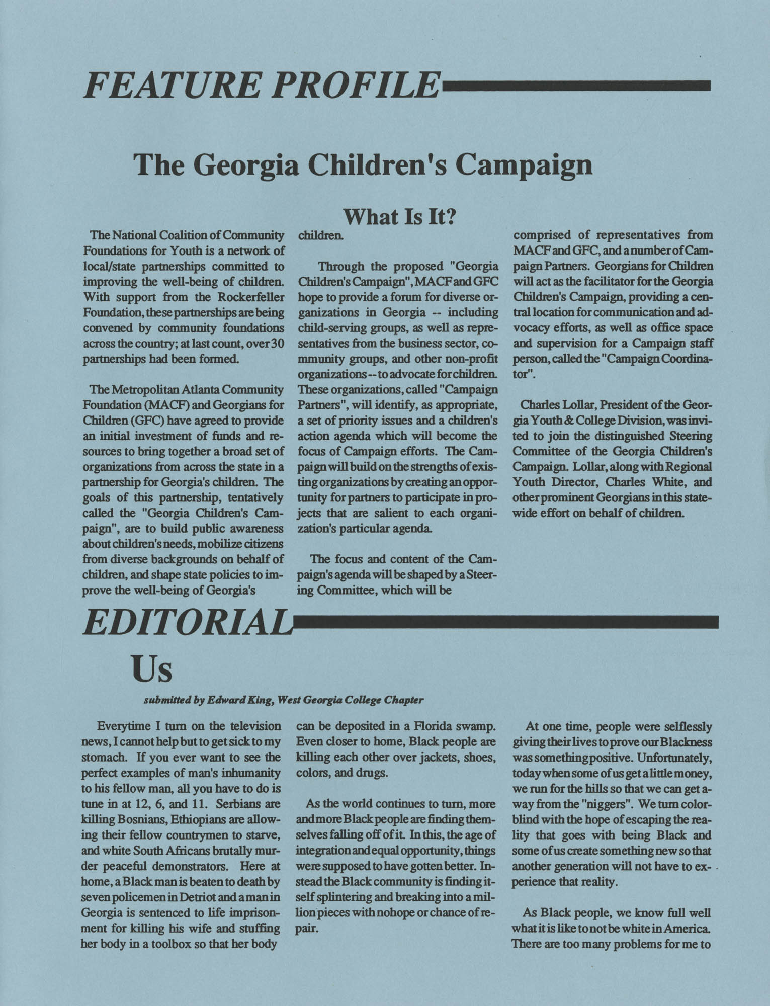 NAACP V, Southeast Region Newsletter, Page 13