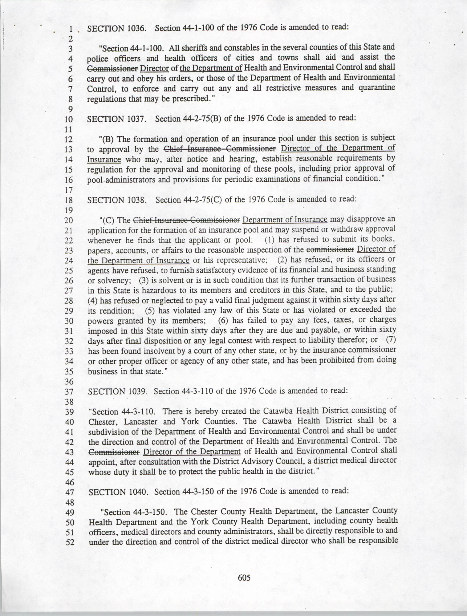 Restructuring Bill, Page 605