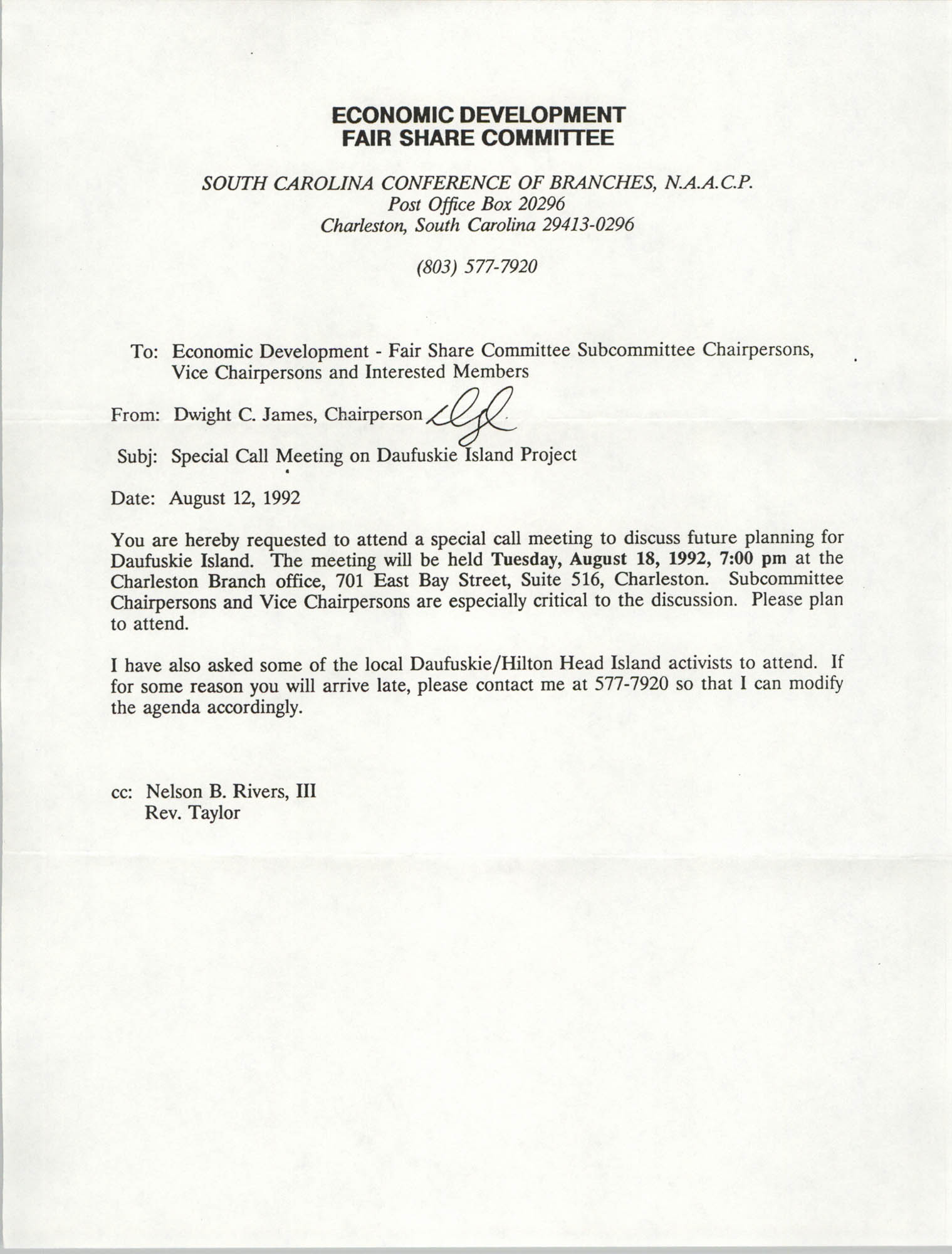 NAACP State Conference and Local Branch Community Development Resource Center Manual, Page 19