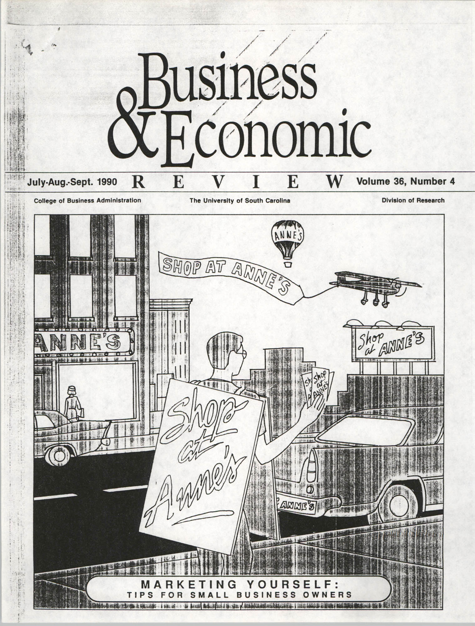Handyman Network, Inc., Business and Economic, Volume 36, Number 4, July-Sept. 1990, Cover